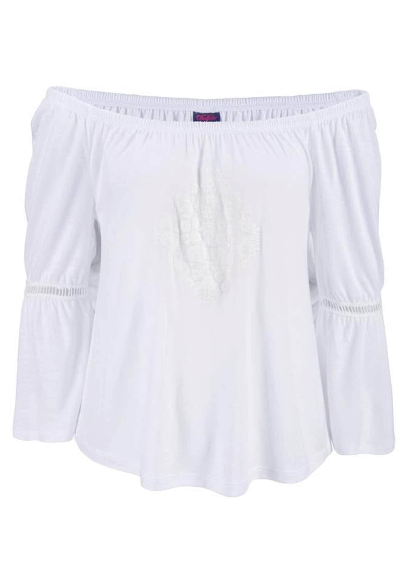 BUFFALO T-shirt  - Blanc - Taille: XS - female