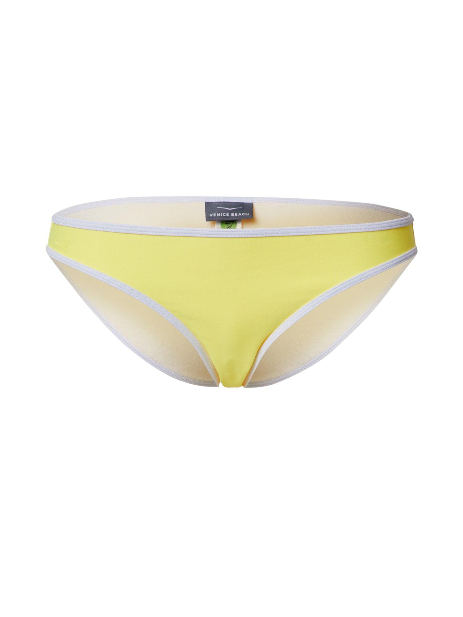 VENICE BEACH Bas de bikini  - Jaune - Taille: 36 - female