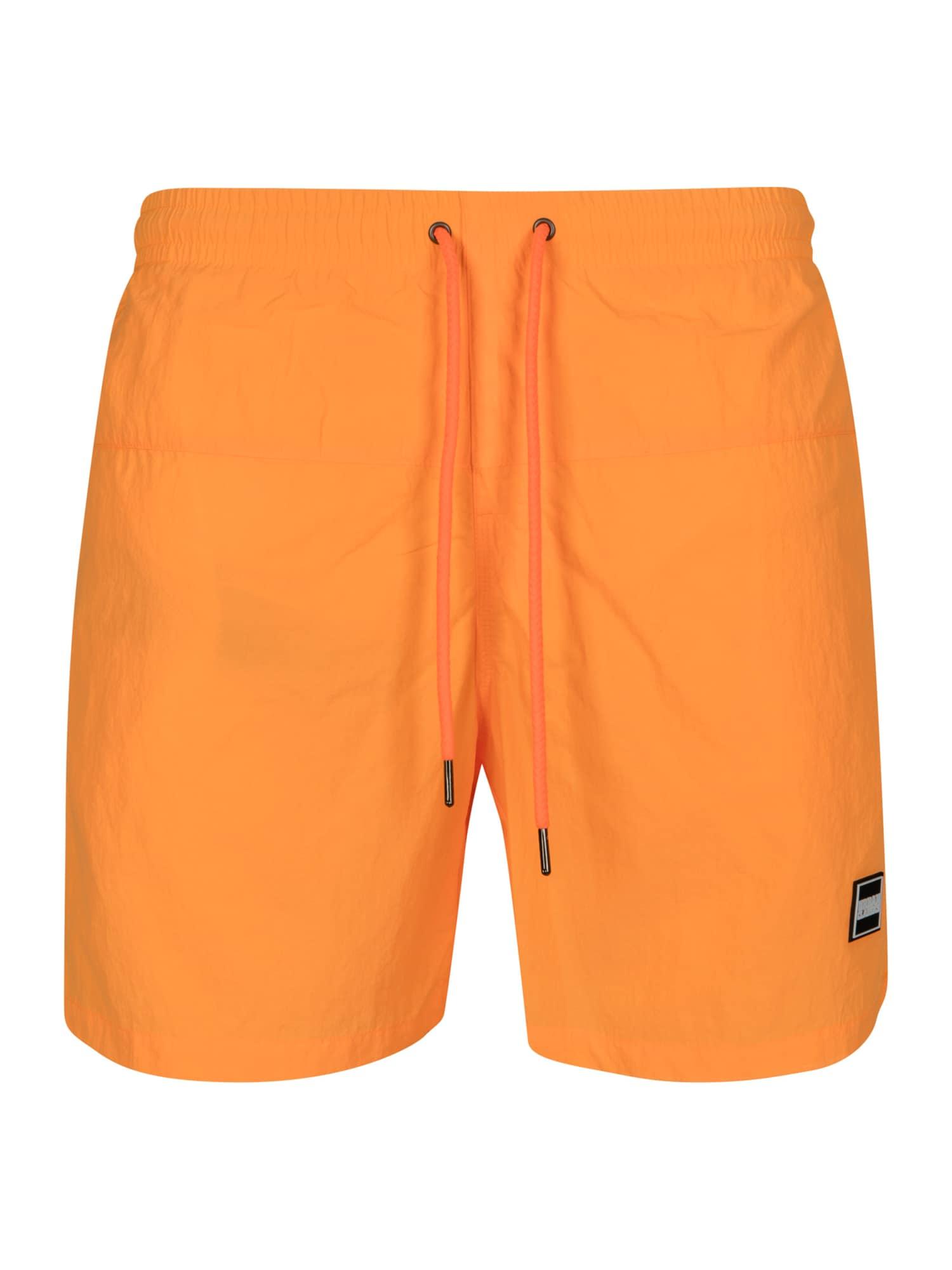 Urban Classics Shorts de bain  - Orange - Taille: M - male