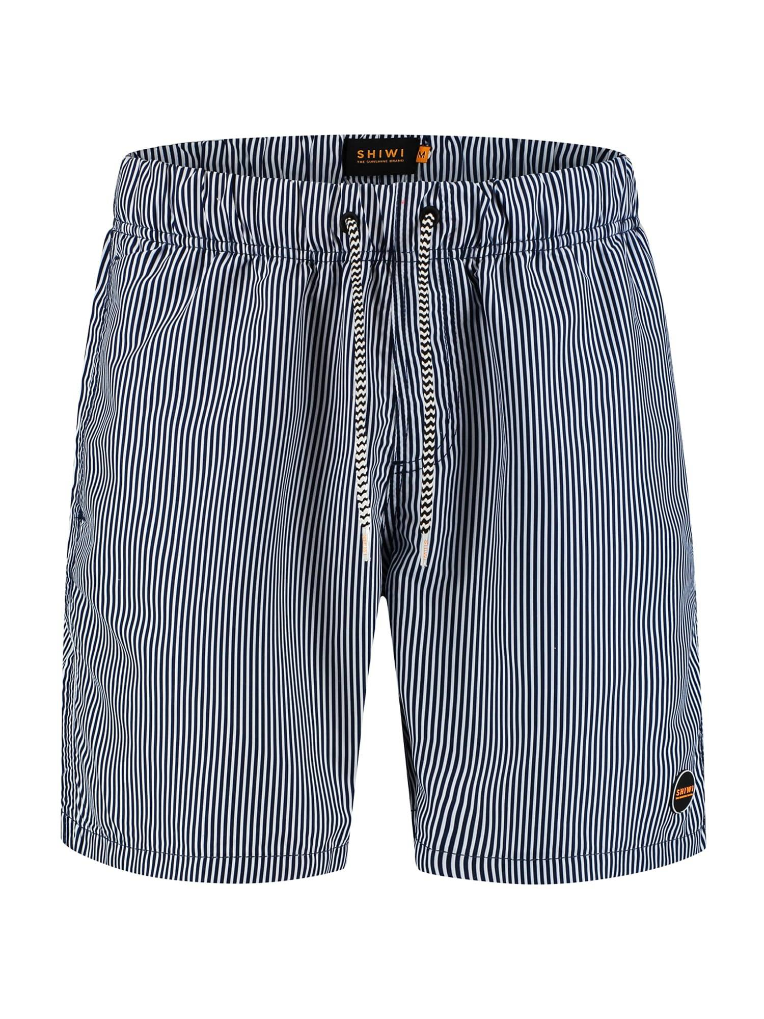 Shiwi Shorts de bain 'Skinny stripe'  - Bleu - Taille: XXXL - male