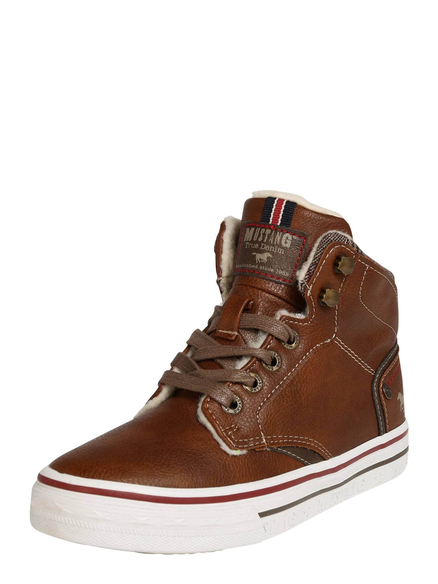 MUSTANG Baskets  - Marron - Taille: 31 - boy