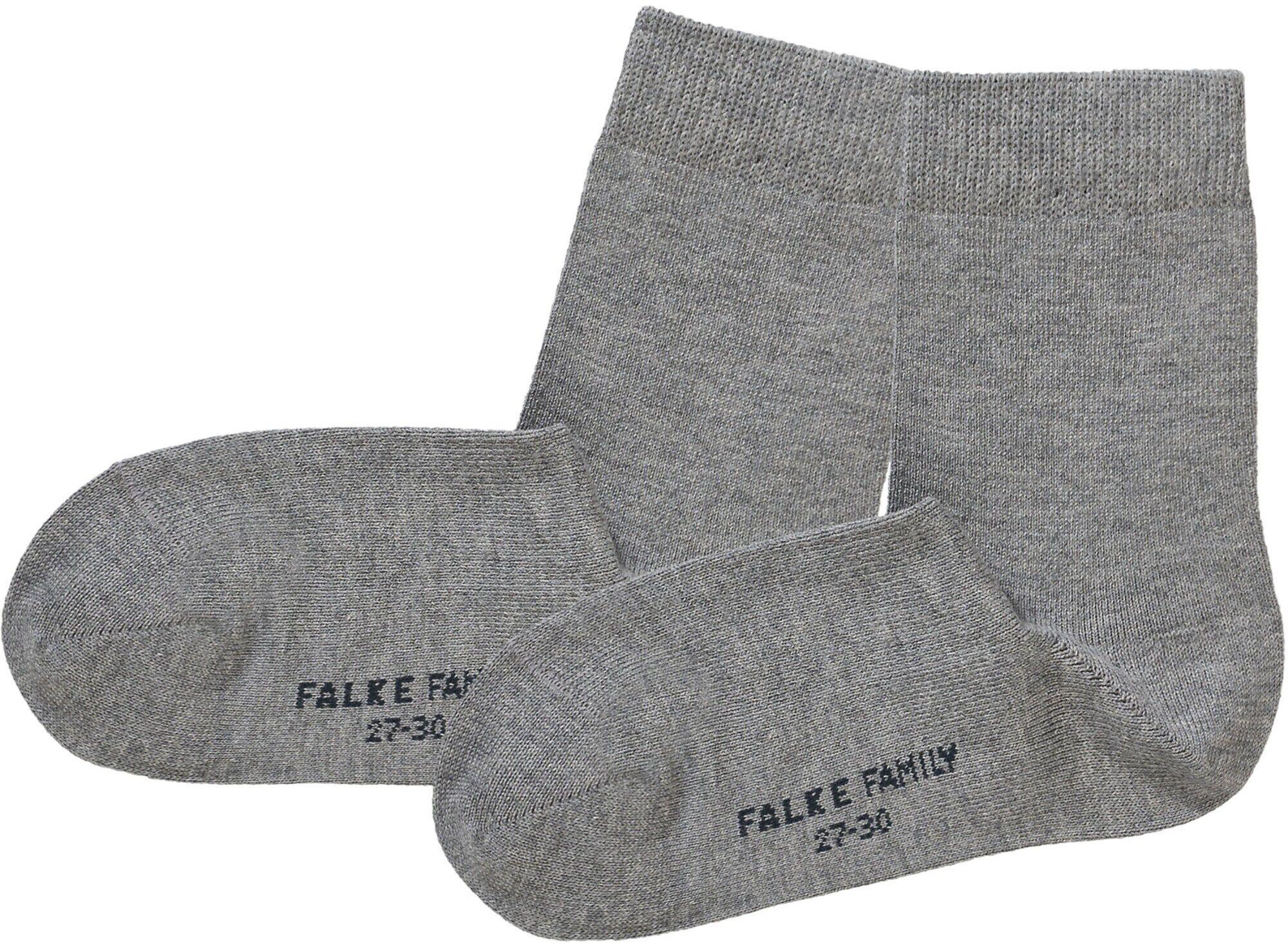 FALKE Chaussettes 'Family'  - Gris - Taille: 35-38 - boy