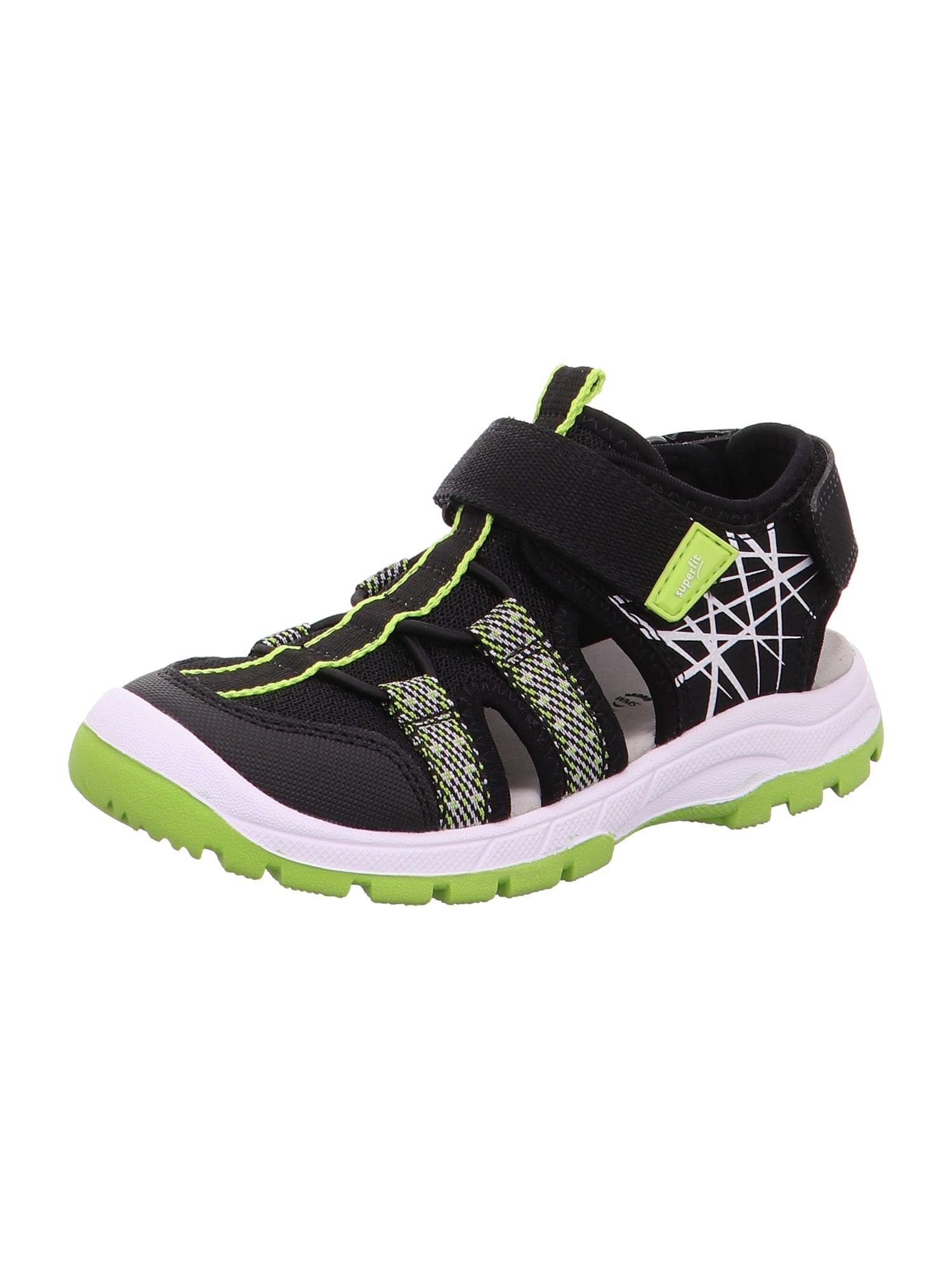 SUPERFIT Chaussures ouvertes 'TORNADO'  - Noir, Blanc - Taille: 38 - boy