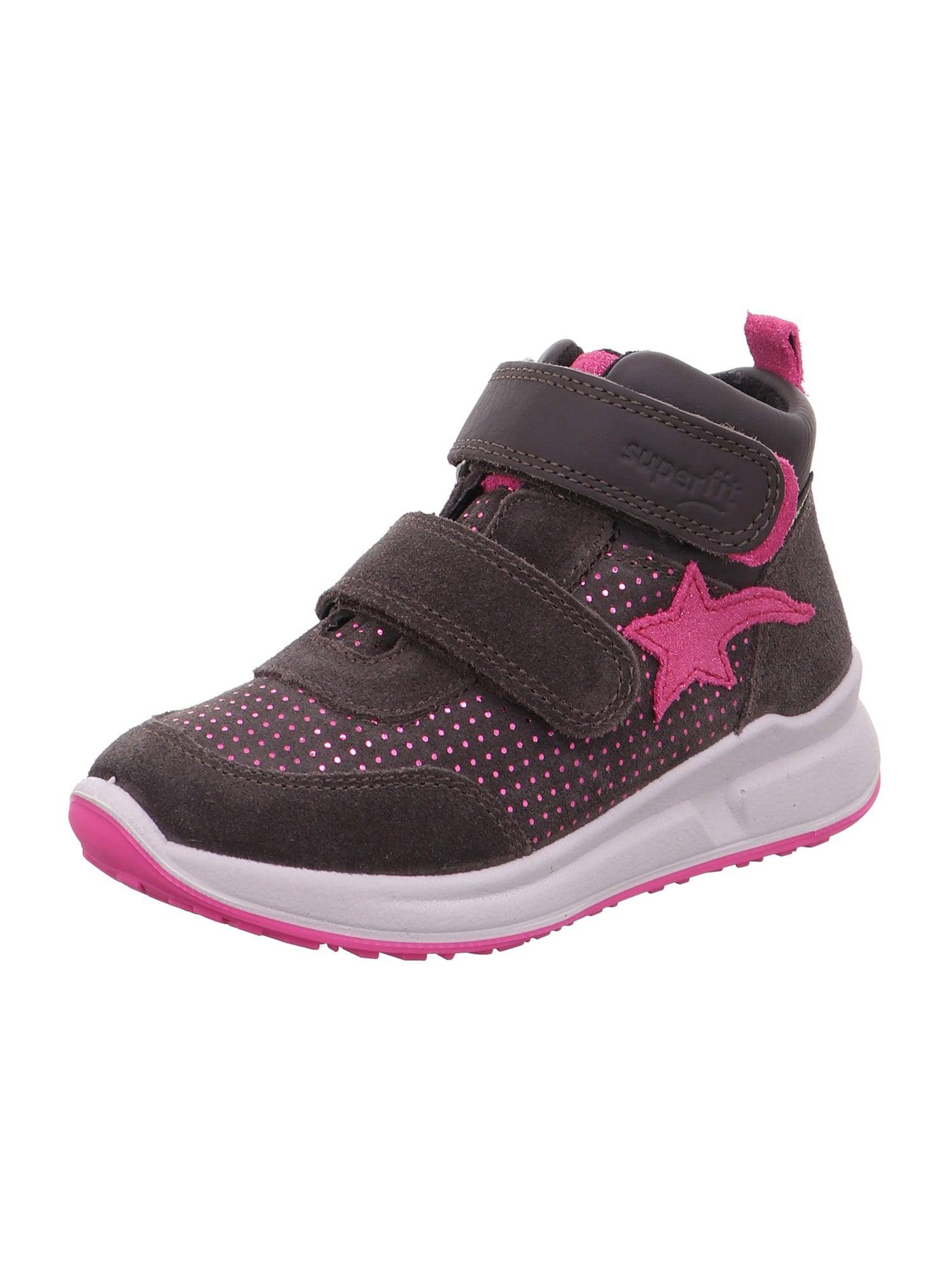 SUPERFIT Baskets 'MERIDA'  - Rose, Marron - Taille: 32 - girl