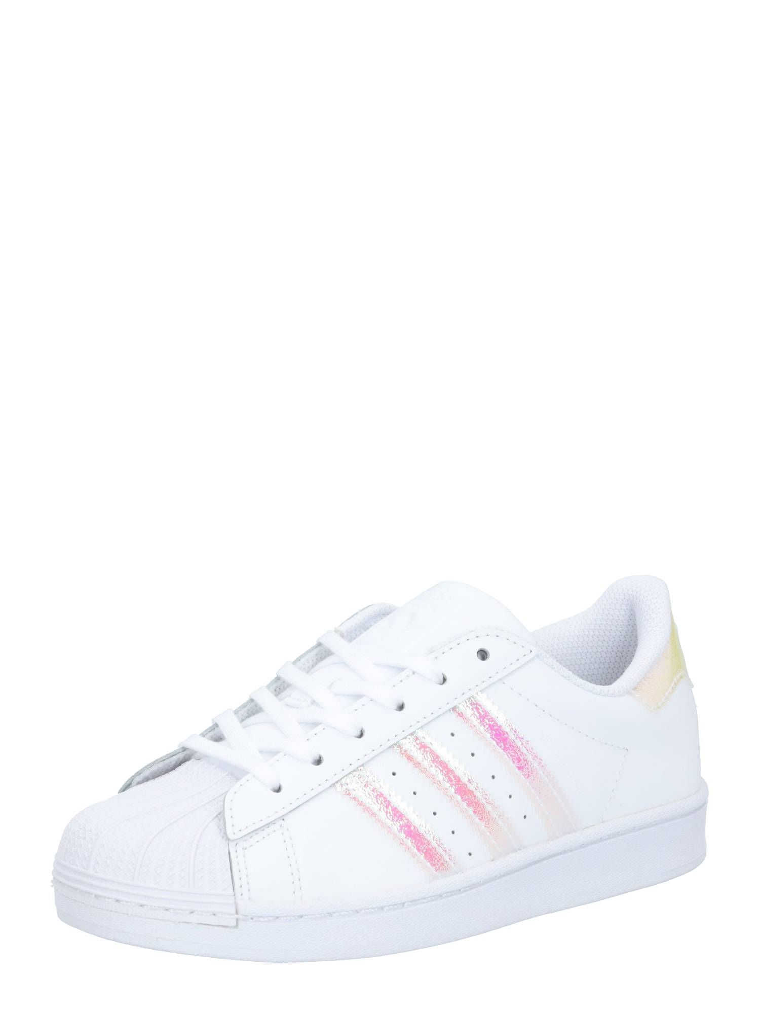 ADIDAS ORIGINALS Baskets 'Superstar C'  - Blanc - Taille: 11.5k - girl