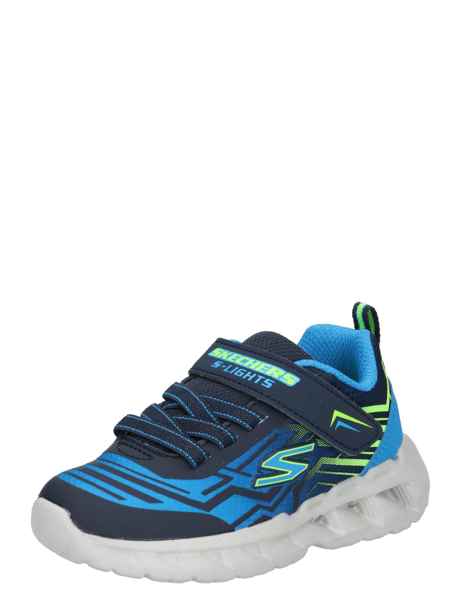 SKECHERS Baskets 'MAGNA-LIGHTS BOZLER'  - Bleu - Taille: 26 - boy