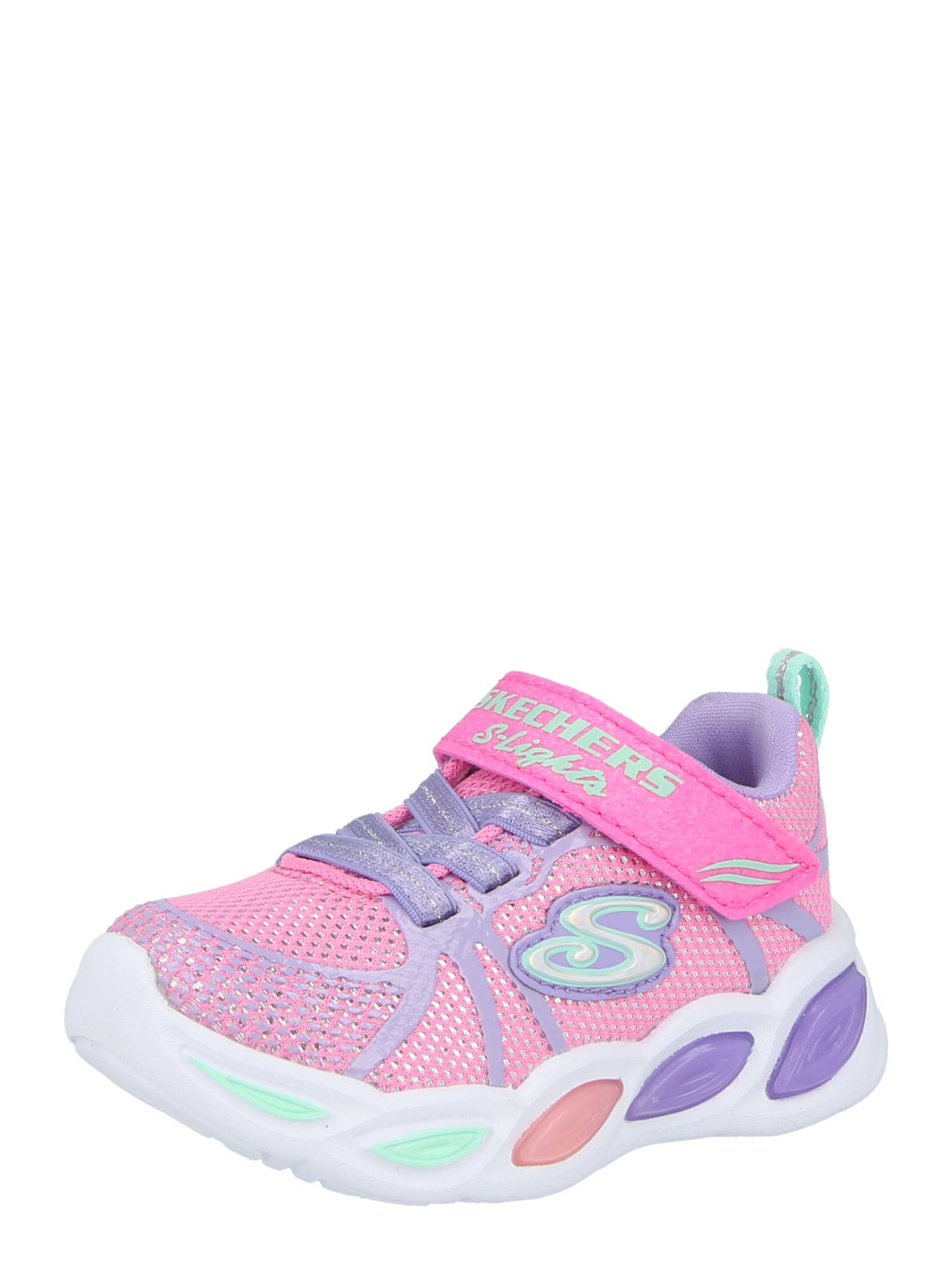 SKECHERS Baskets  - Rose - Taille: 26 - girl