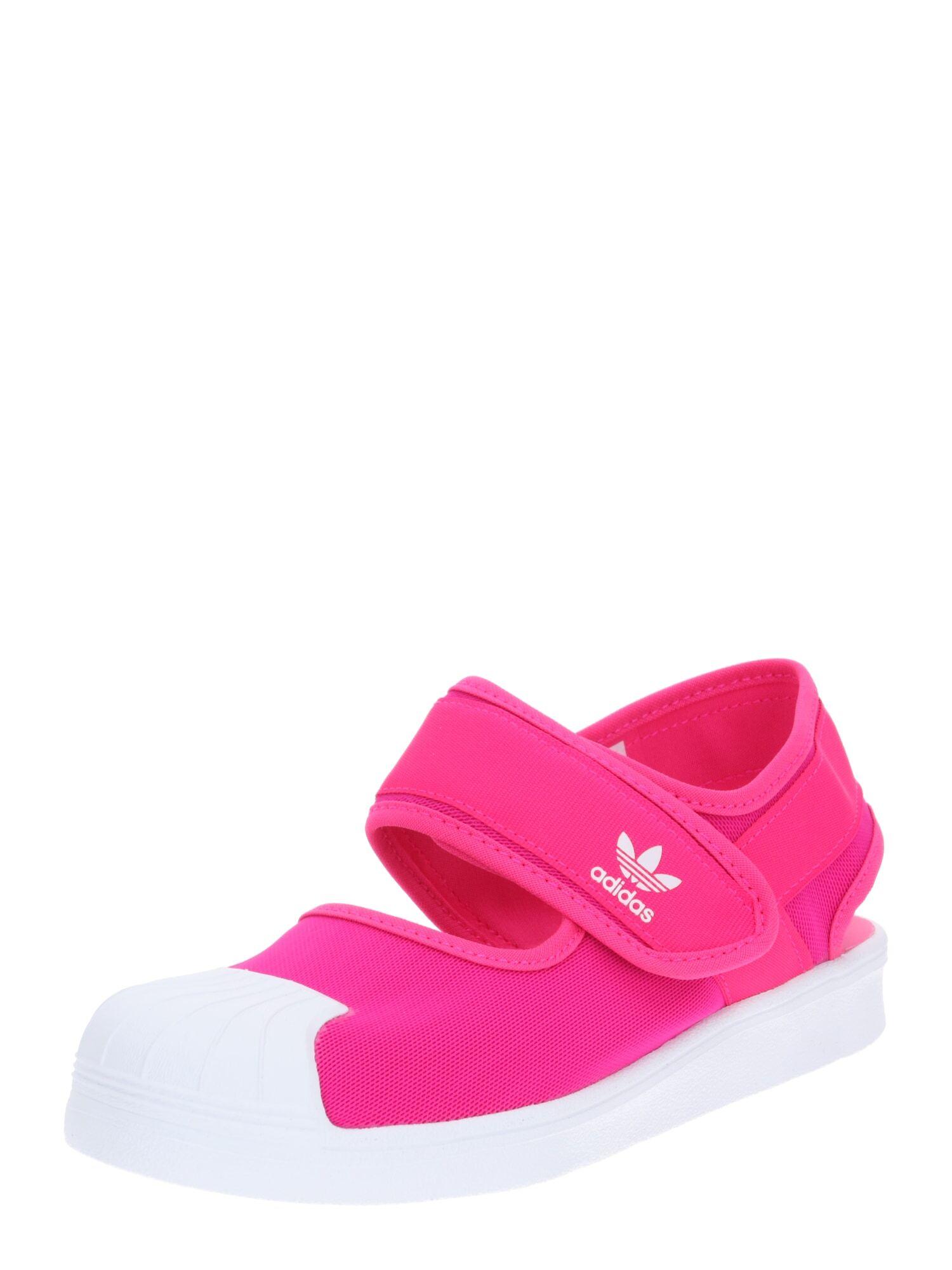 ADIDAS ORIGINALS Chaussures ouvertes 'SANDA'  - Rose - Taille: 30.5 - boy