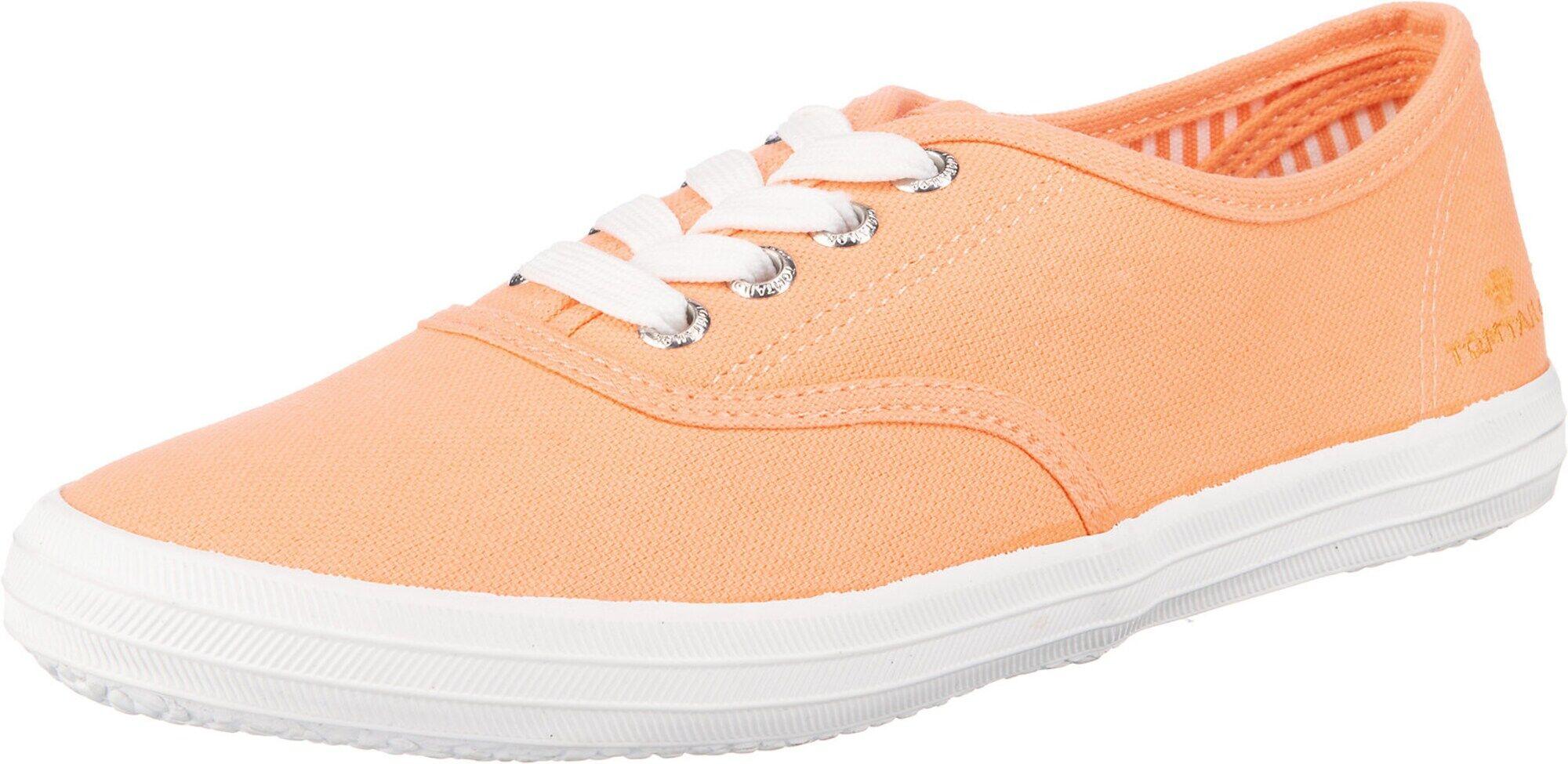TOM TAILOR Baskets basses  - Orange - Taille: 40 - female