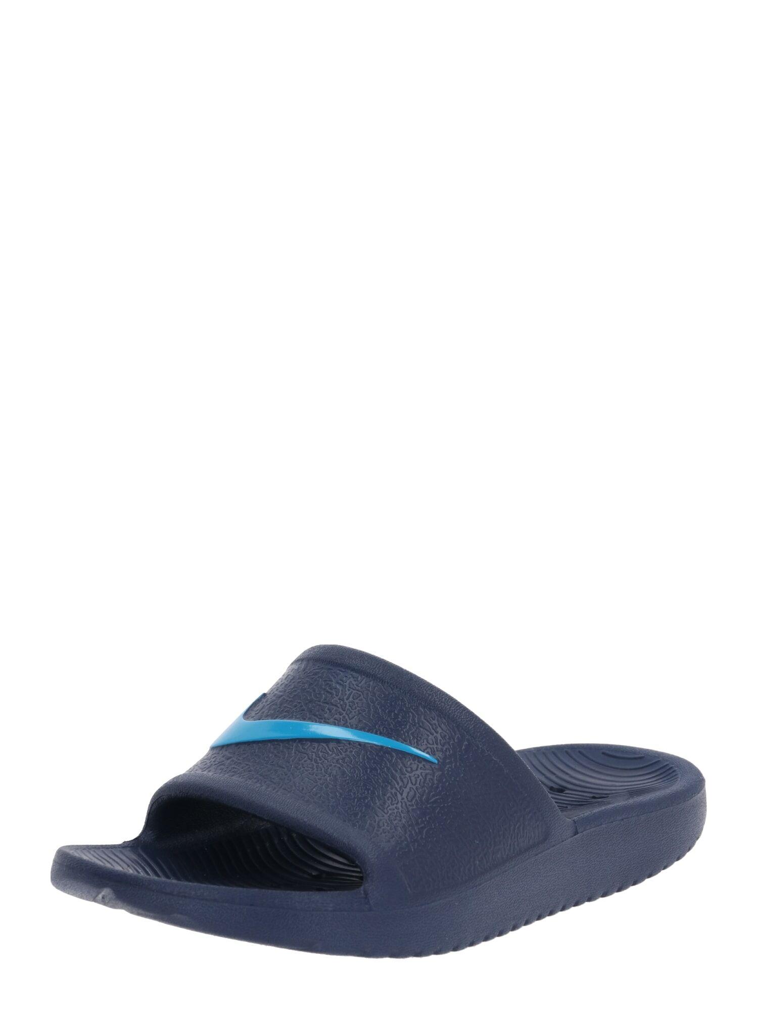 Nike Sportswear Chaussures ouvertes 'KAWA'  - Bleu - Taille: 12C - boy