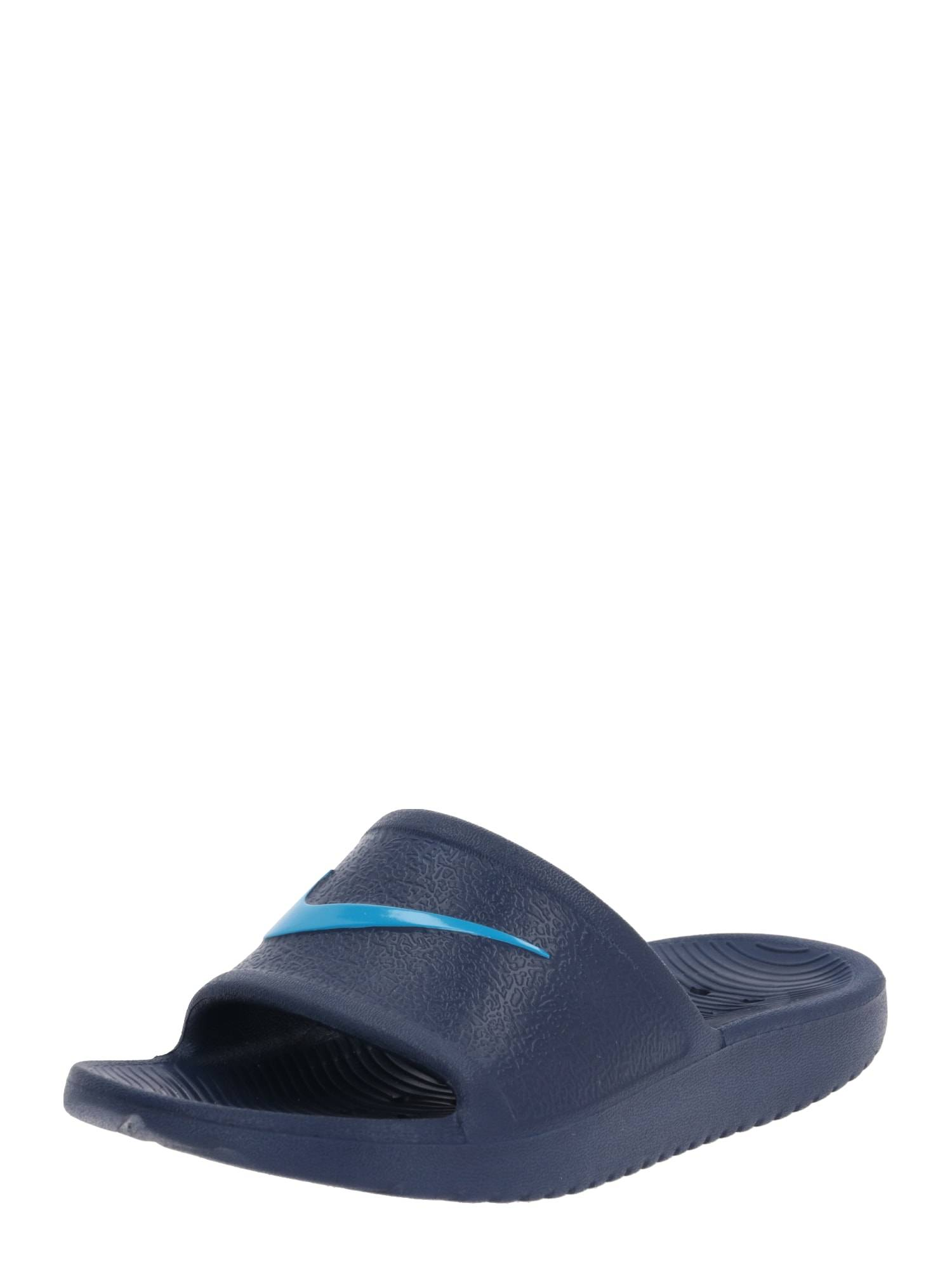 Nike Sportswear Claquettes / Tongs 'KAWA'  - Bleu - Taille: 12C - boy