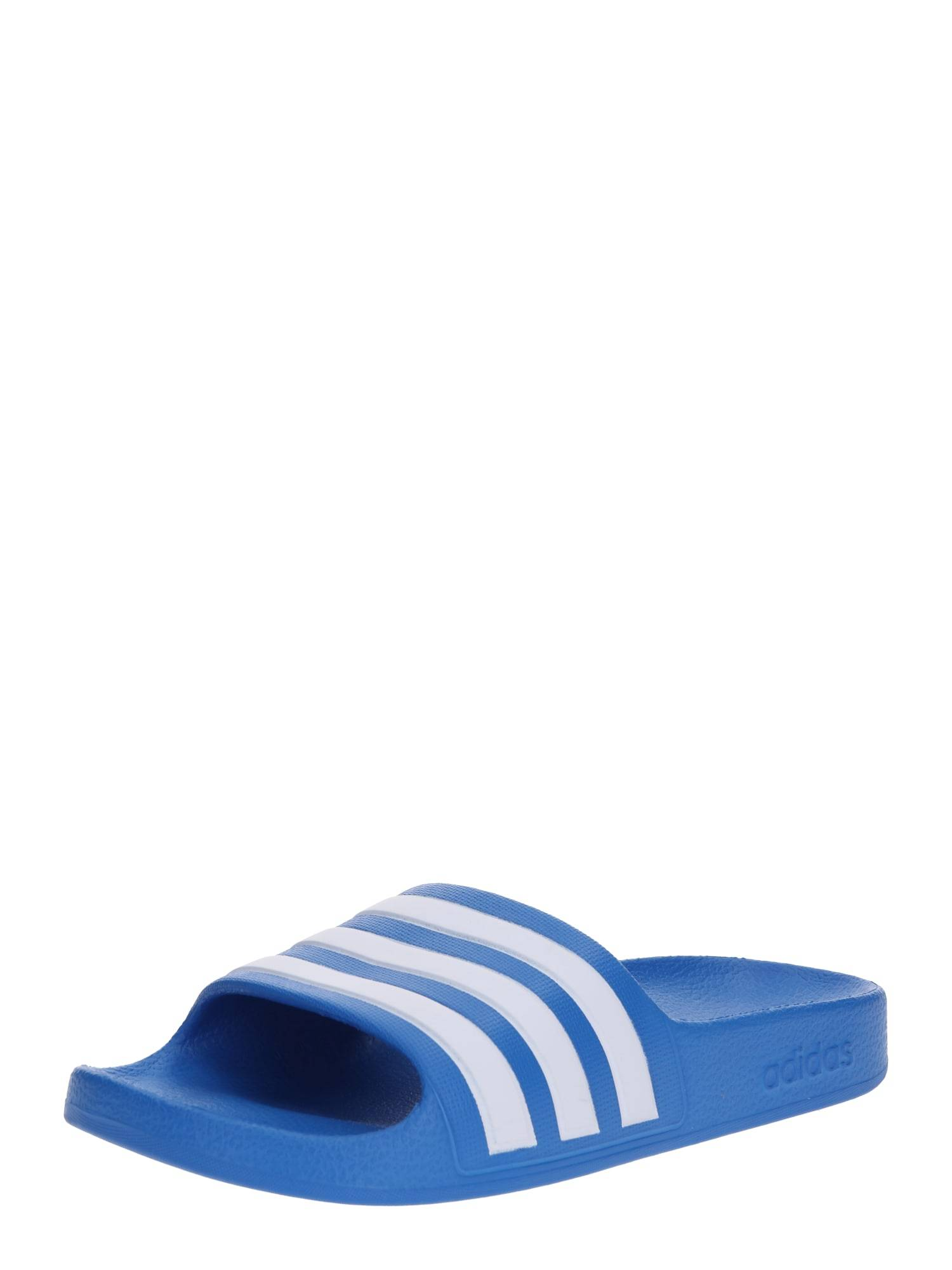 ADIDAS PERFORMANCE Claquettes / Tongs  - Bleu - Taille: 34 - boy