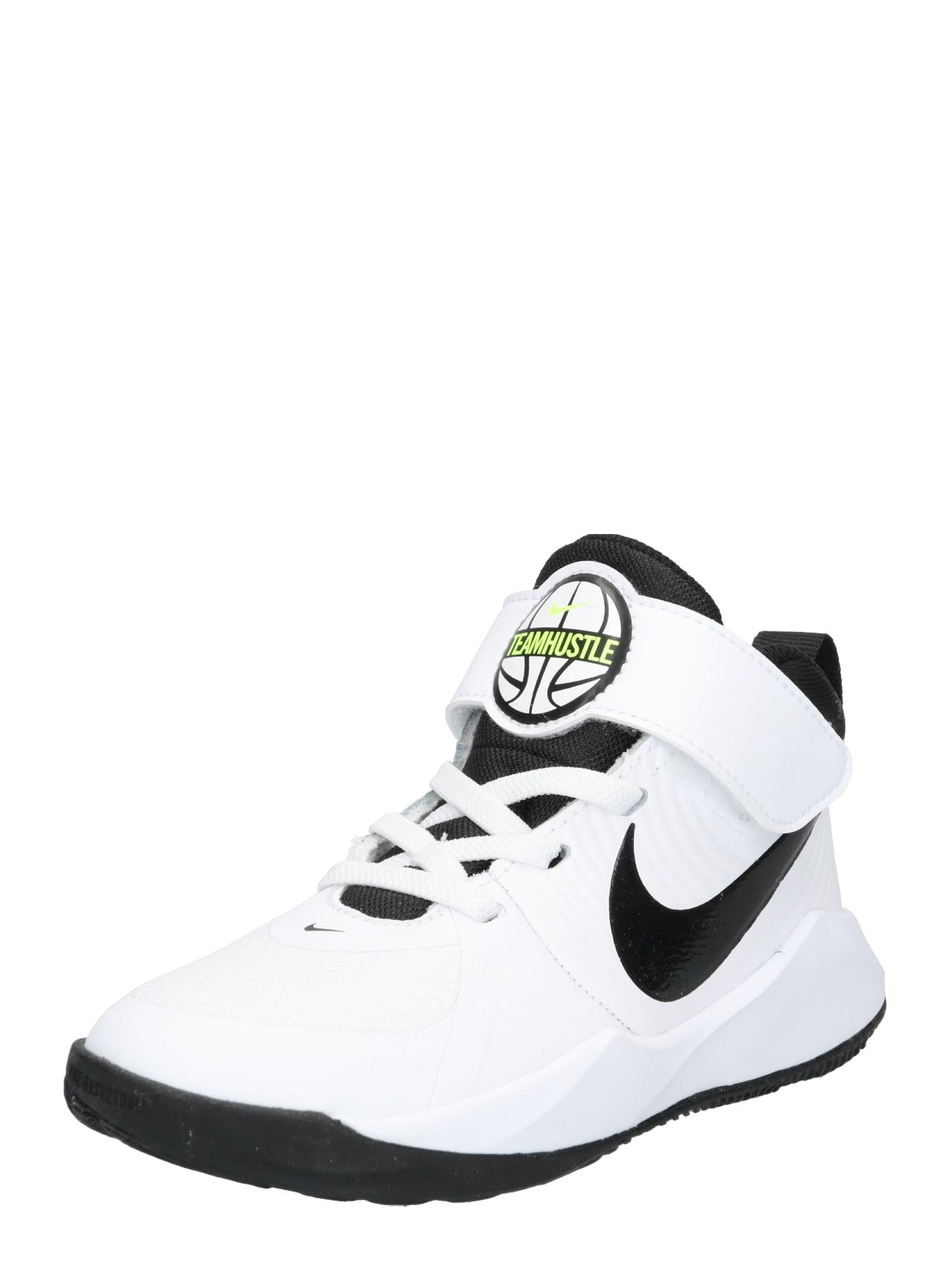 NIKE Chaussure de sport 'TEAM HUSTLE D 9 (PS)'  - Blanc - Taille: 13.5C - boy