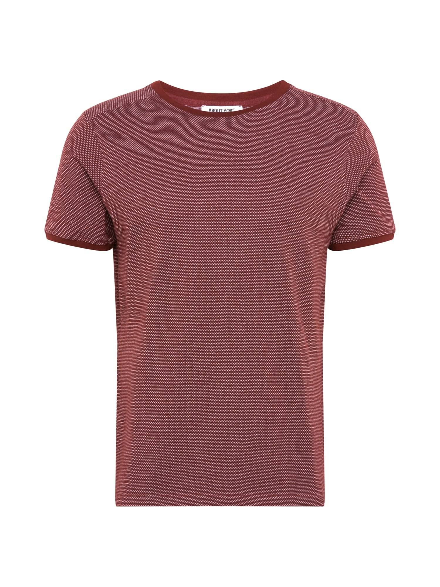 ABOUT YOU T-Shirt 'Marlo Shirt'  - Rouge - Taille: S - male