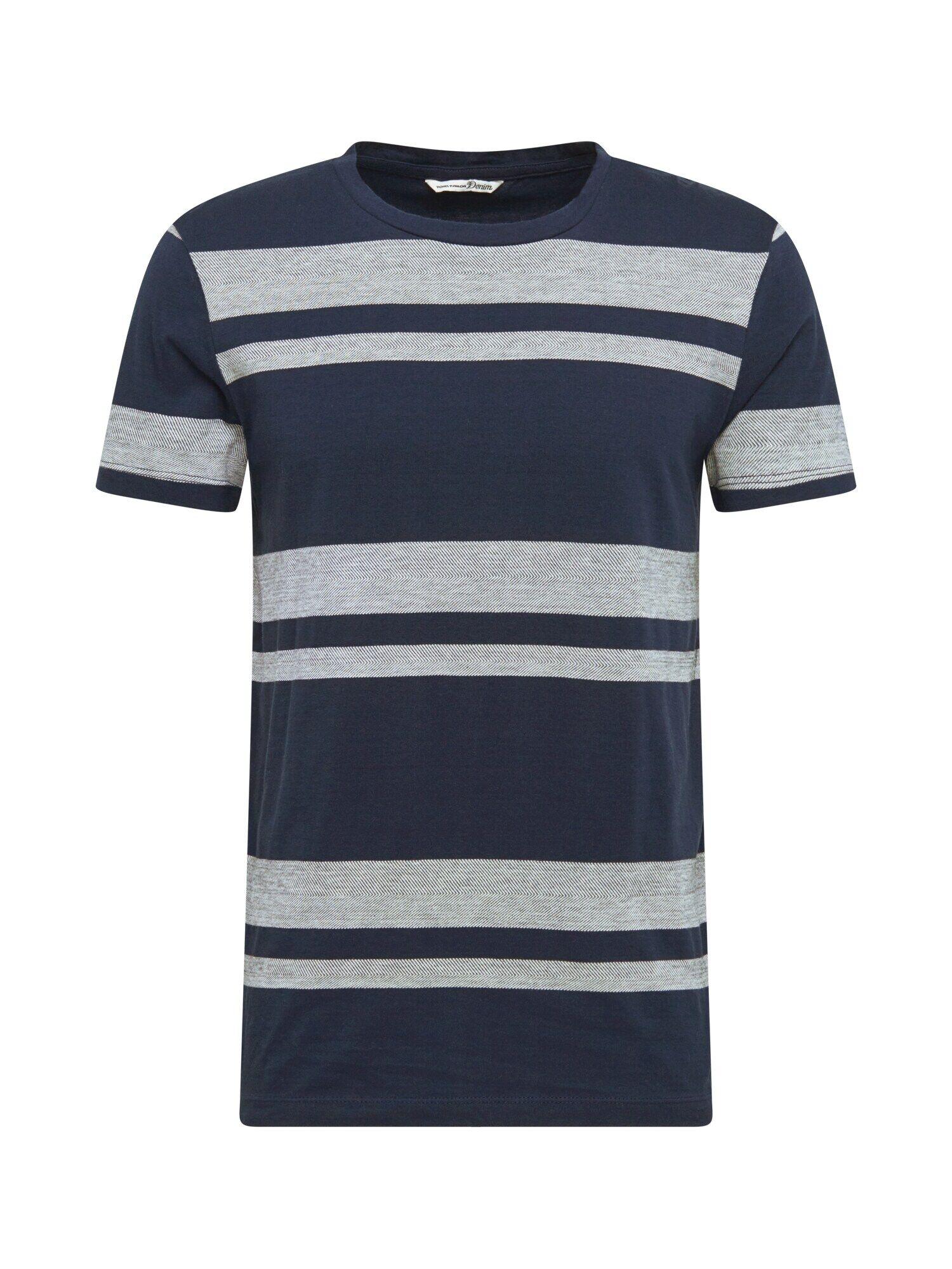 TOM TAILOR DENIM T-Shirt  - Bleu - Taille: L - male