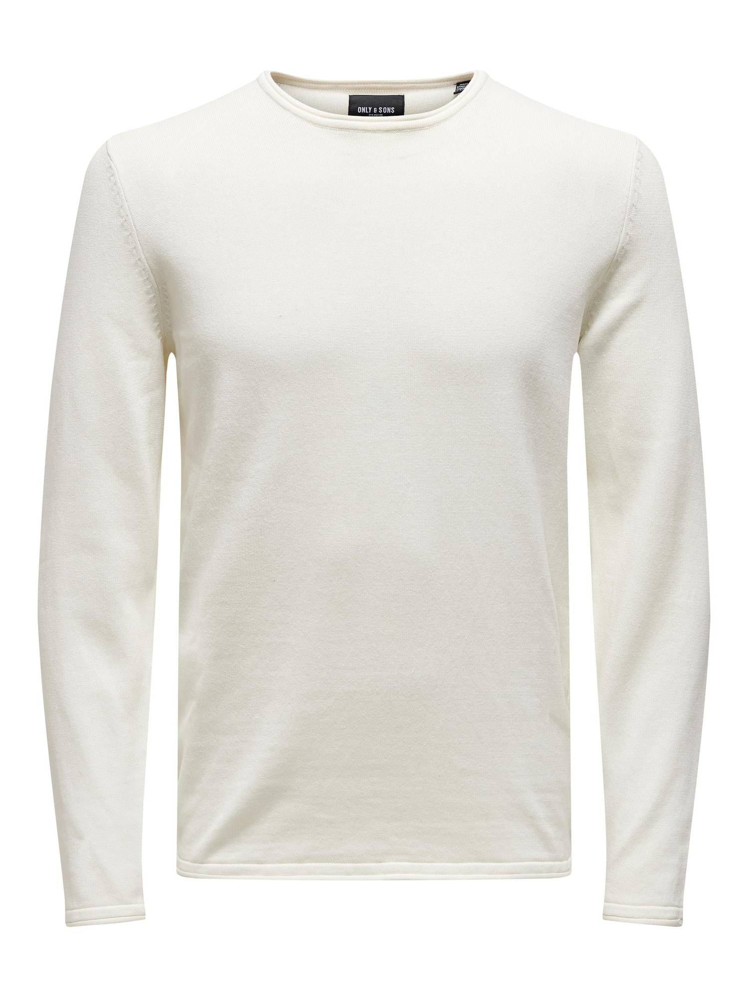 Only & Sons Pull-over 'GARSON'  - Blanc - Taille: XL - male
