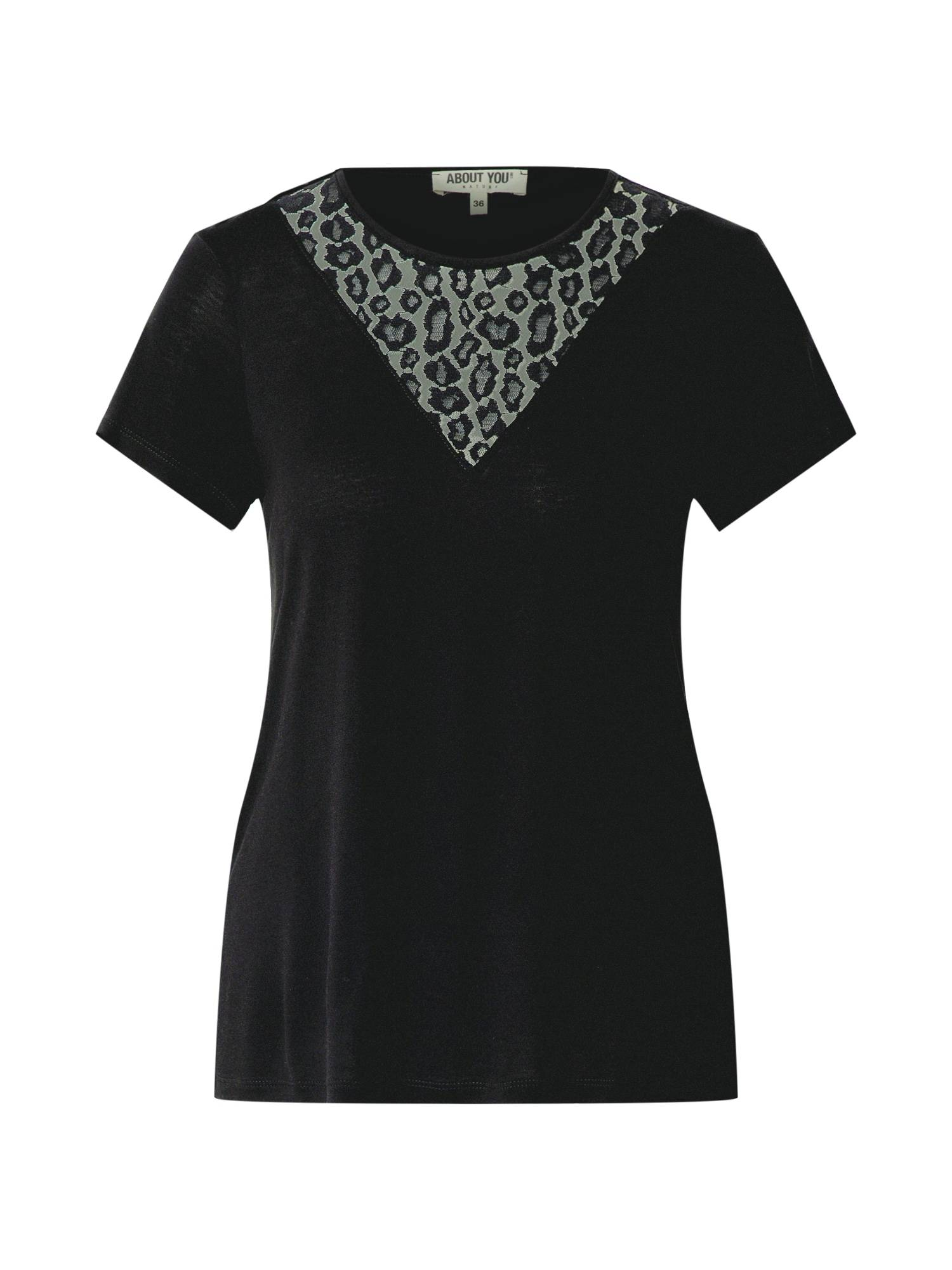 ABOUT YOU T-shirt 'Erin'  - Noir - Taille: 44 - female