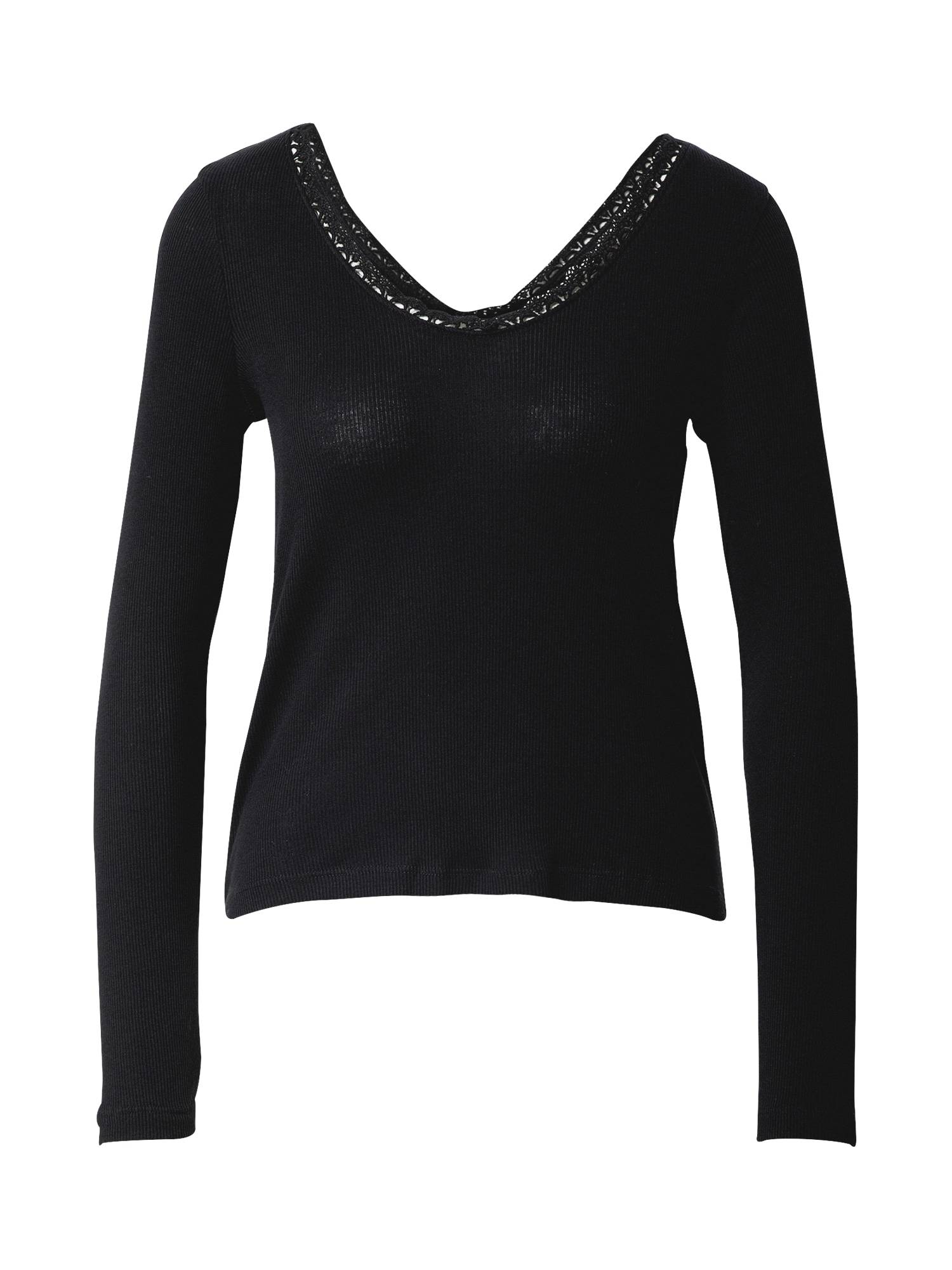 ONLY T-shirt 'Darina'  - Noir - Taille: XS - female