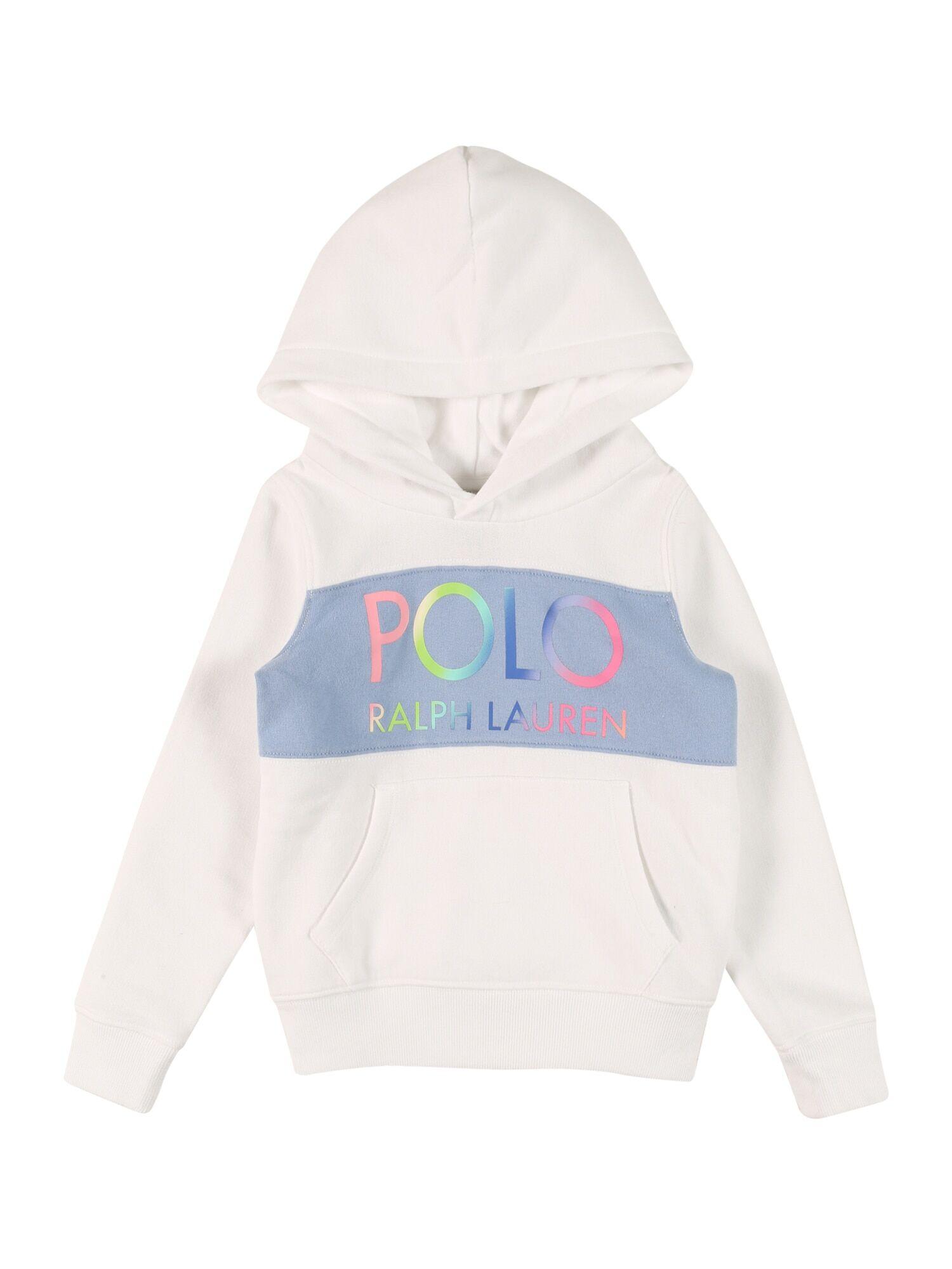 POLO RALPH LAUREN Sweat-shirt  - Blanc - Taille: 6 - girl