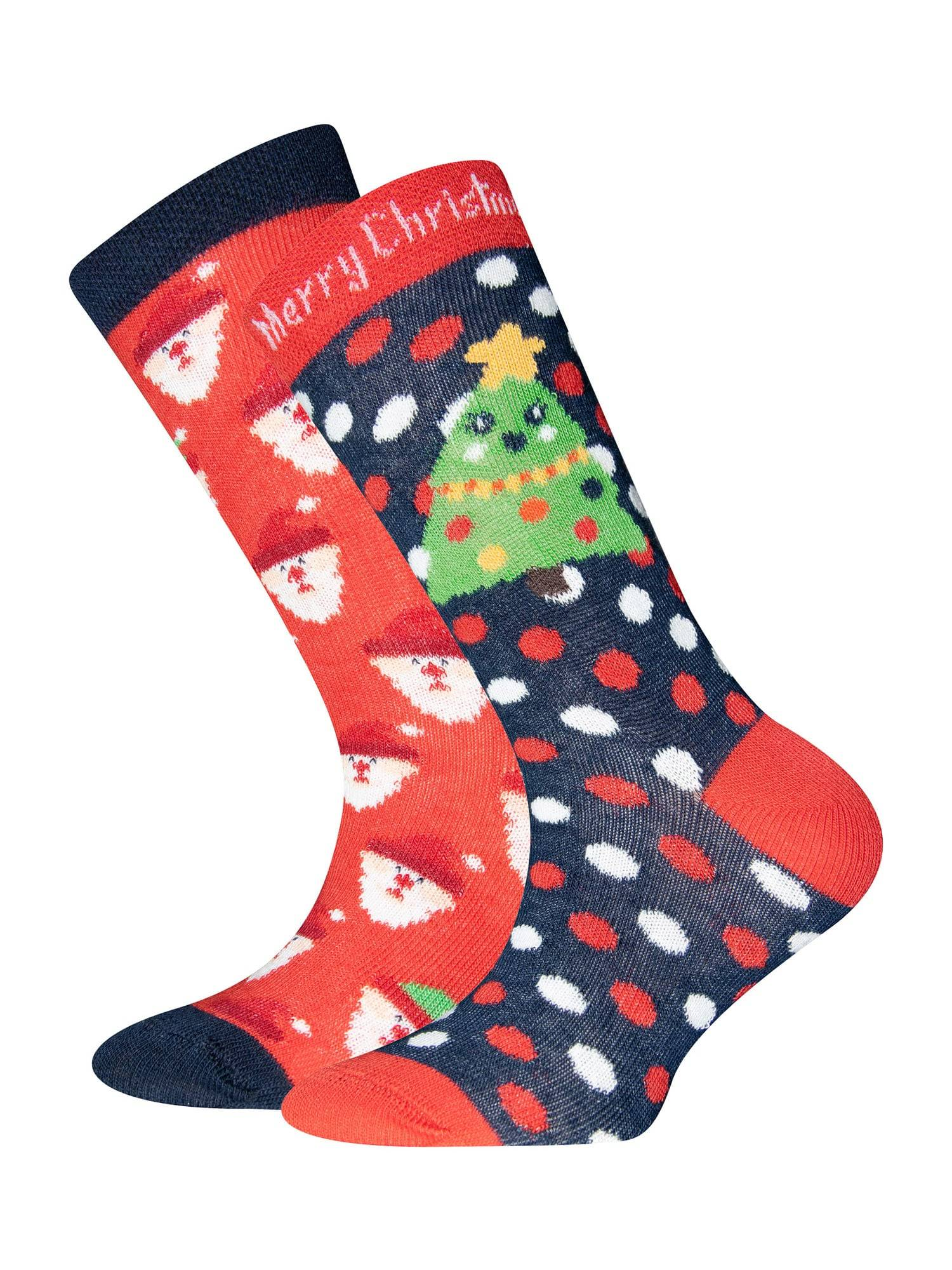 EWERS Chaussettes  - Bleu, Rouge - Taille: 23-26 - boy