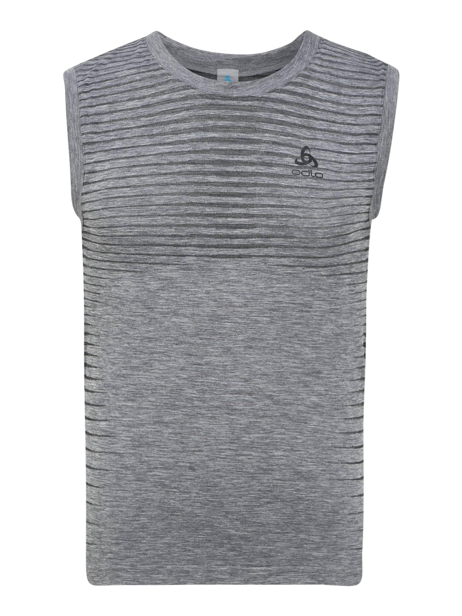 ODLO T-Shirt fonctionnel 'Singlet PERFORMANCE'  - Gris - Taille: XXL - male