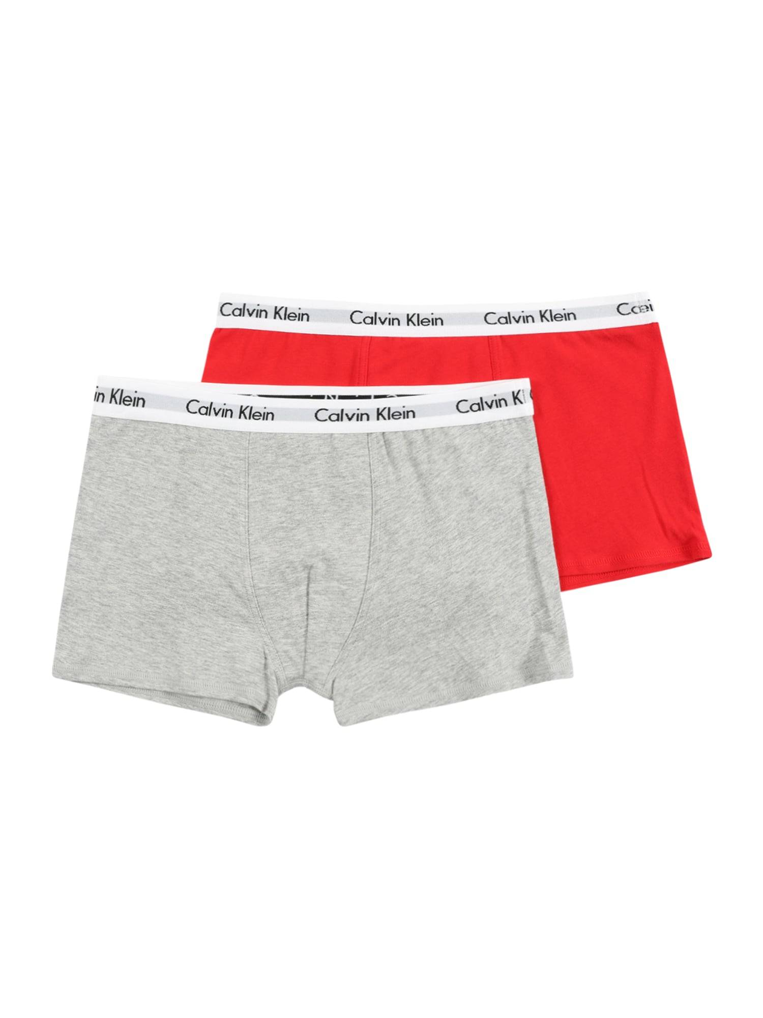 Calvin Sous-vêtements  - Rouge, Gris - Taille: 140-152 - boy