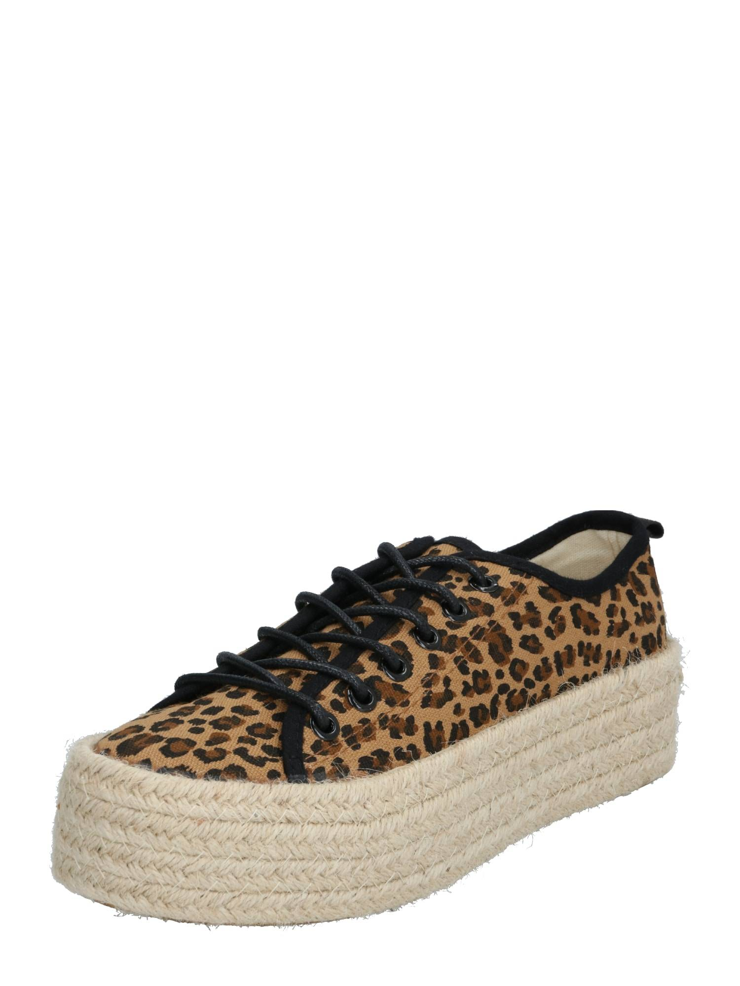 ABOUT YOU Baskets basses 'Leila'  - Marron - Taille: 40 - female