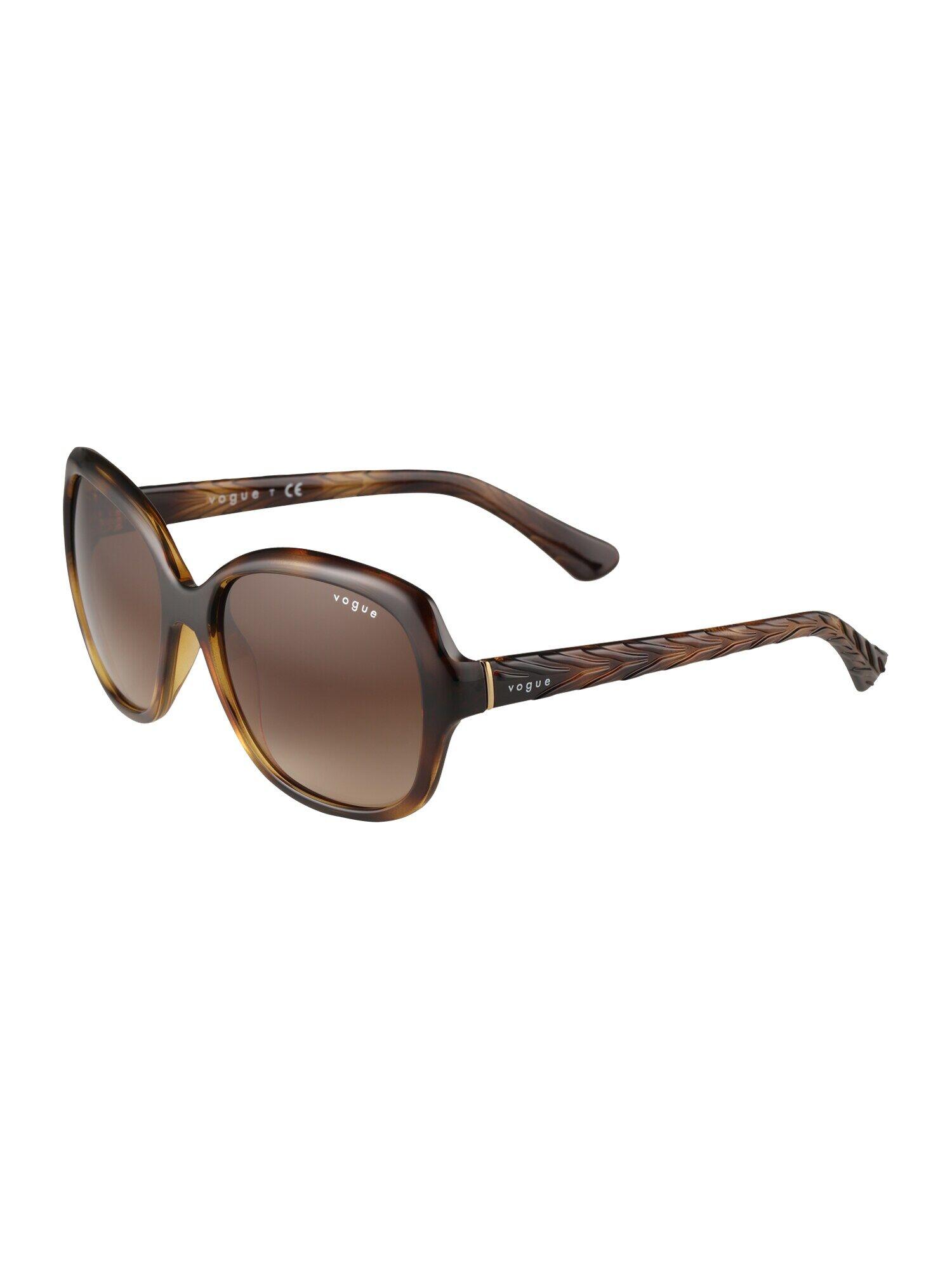 VOGUE Eyewear Lunettes de soleil  - Marron - Taille: 56 - female