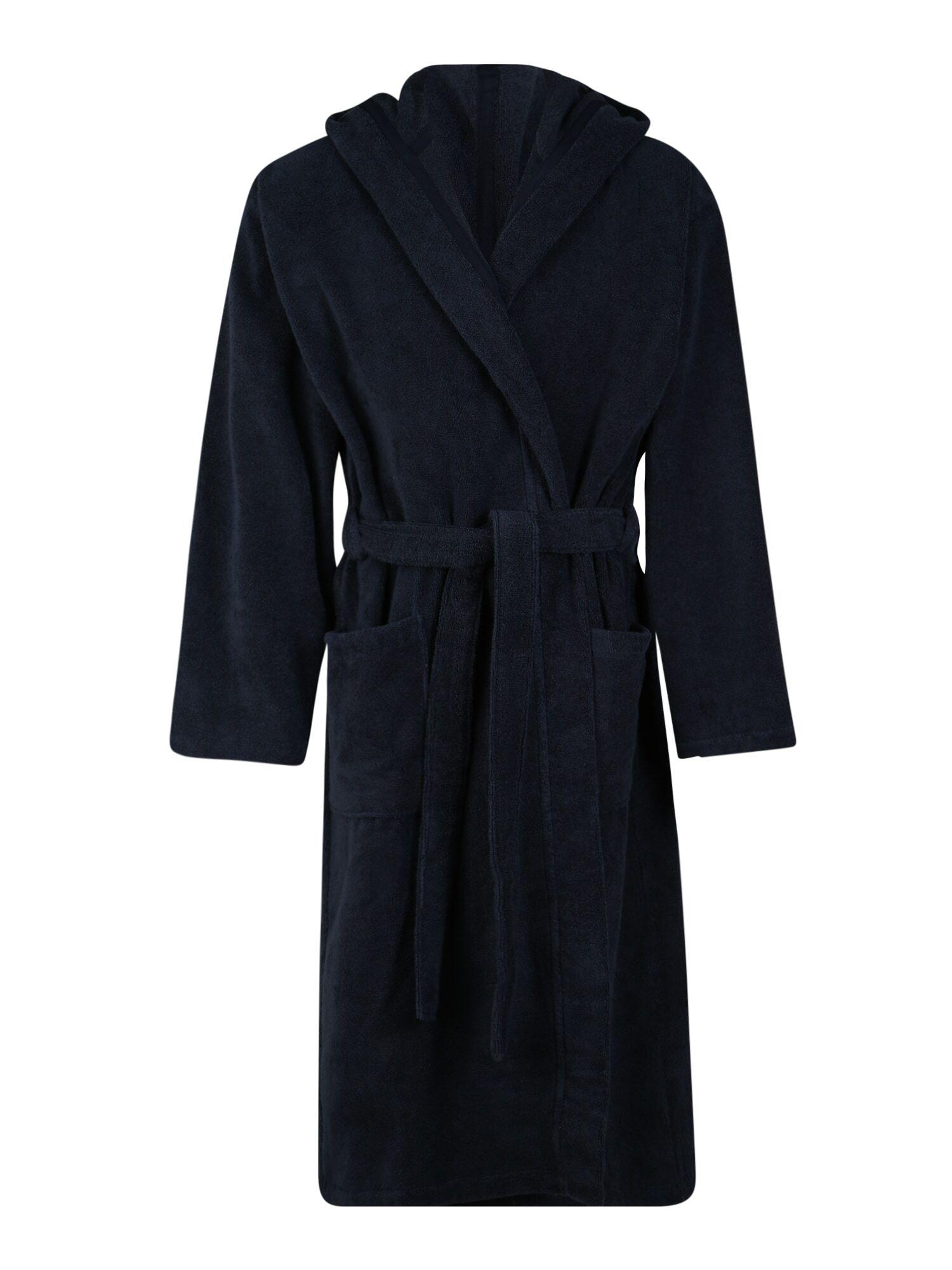 SCHIESSER Peignoir long  - Bleu - Taille: M - male