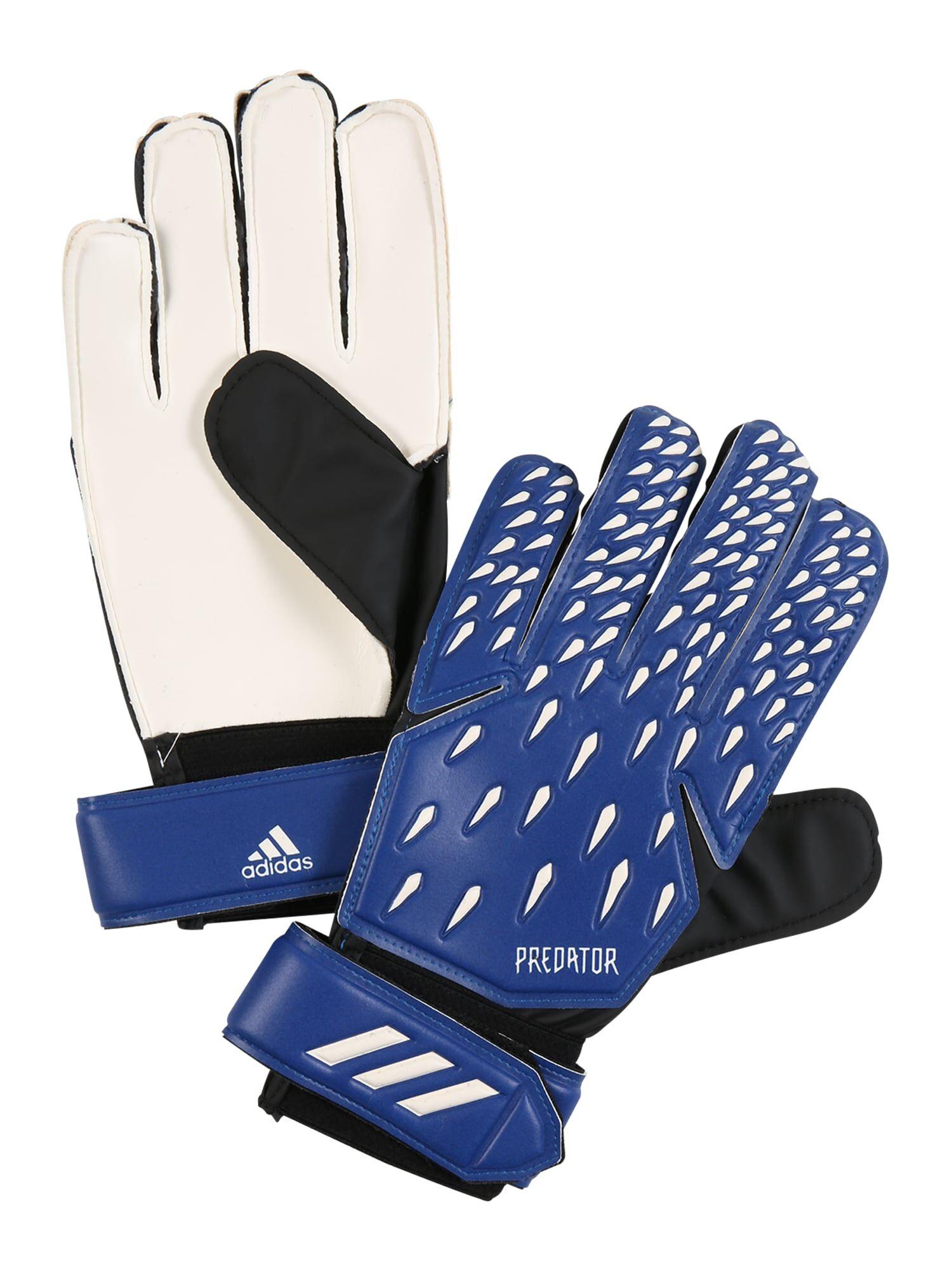 ADIDAS PERFORMANCE Gants de sport 'Predator'  - Bleu, Blanc - Taille: 11 - male