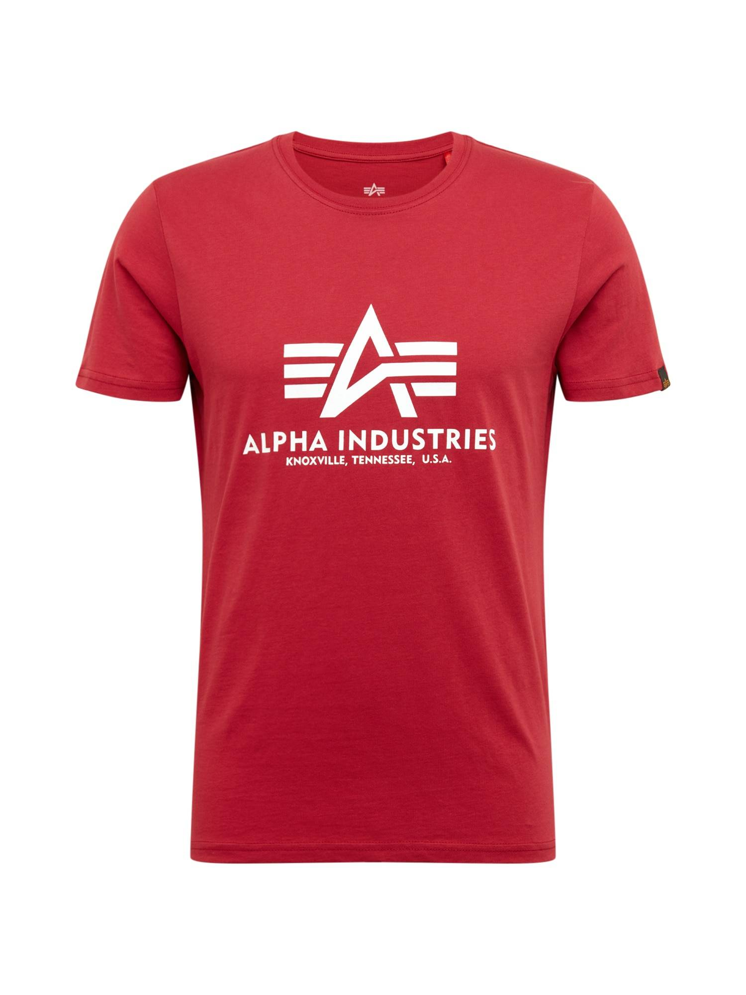 Alpha T-Shirt  - Rouge - Taille: S - male