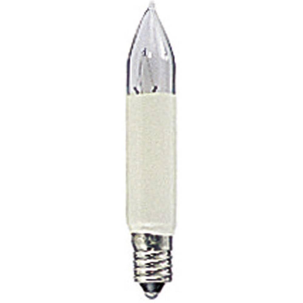 Konstsmide Petite ampoule en forme de bougie 8 V Konstsmide 1052-020 N/A E10 2 pc(s)
