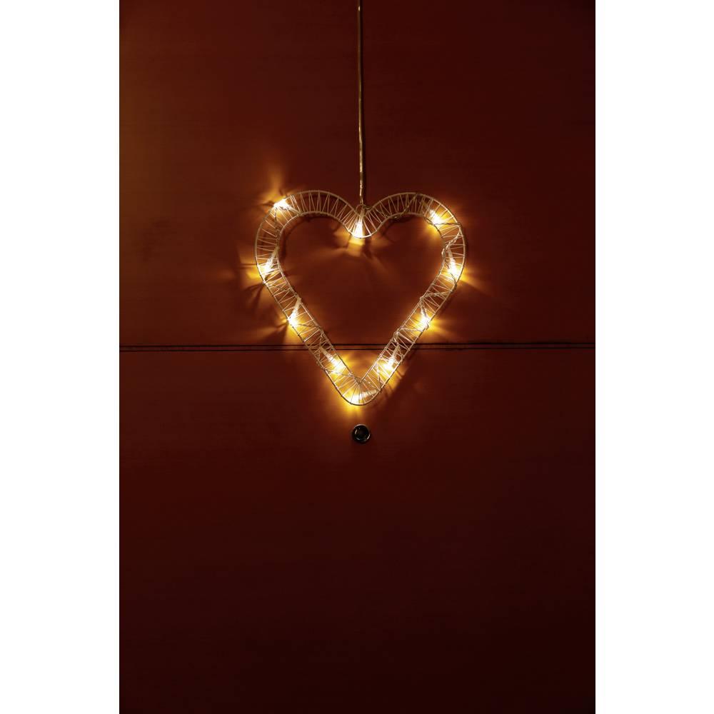 Polarlite cœur LED Polarlite 709660 blanc