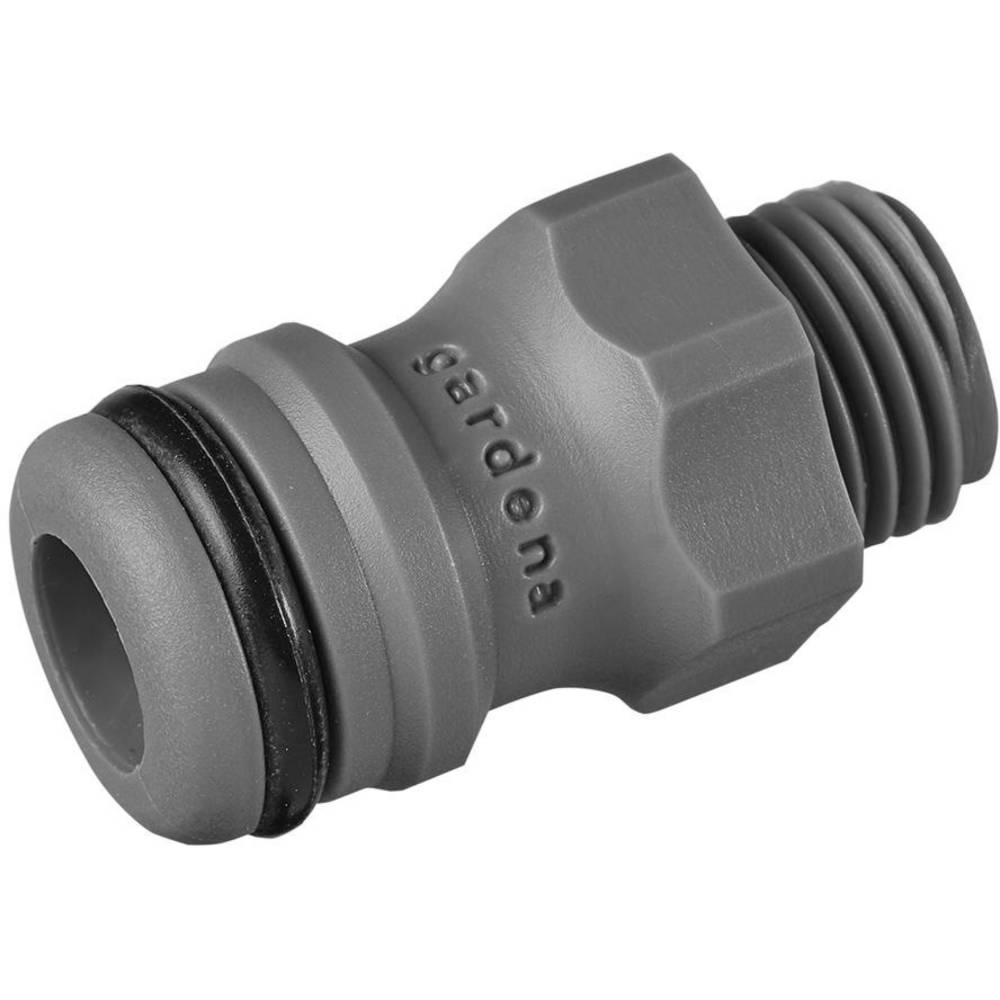 GARDENA Adaptateur GARDENA 02920-26 13,16 mm (1/4) (filet ext.), raccord enfichable