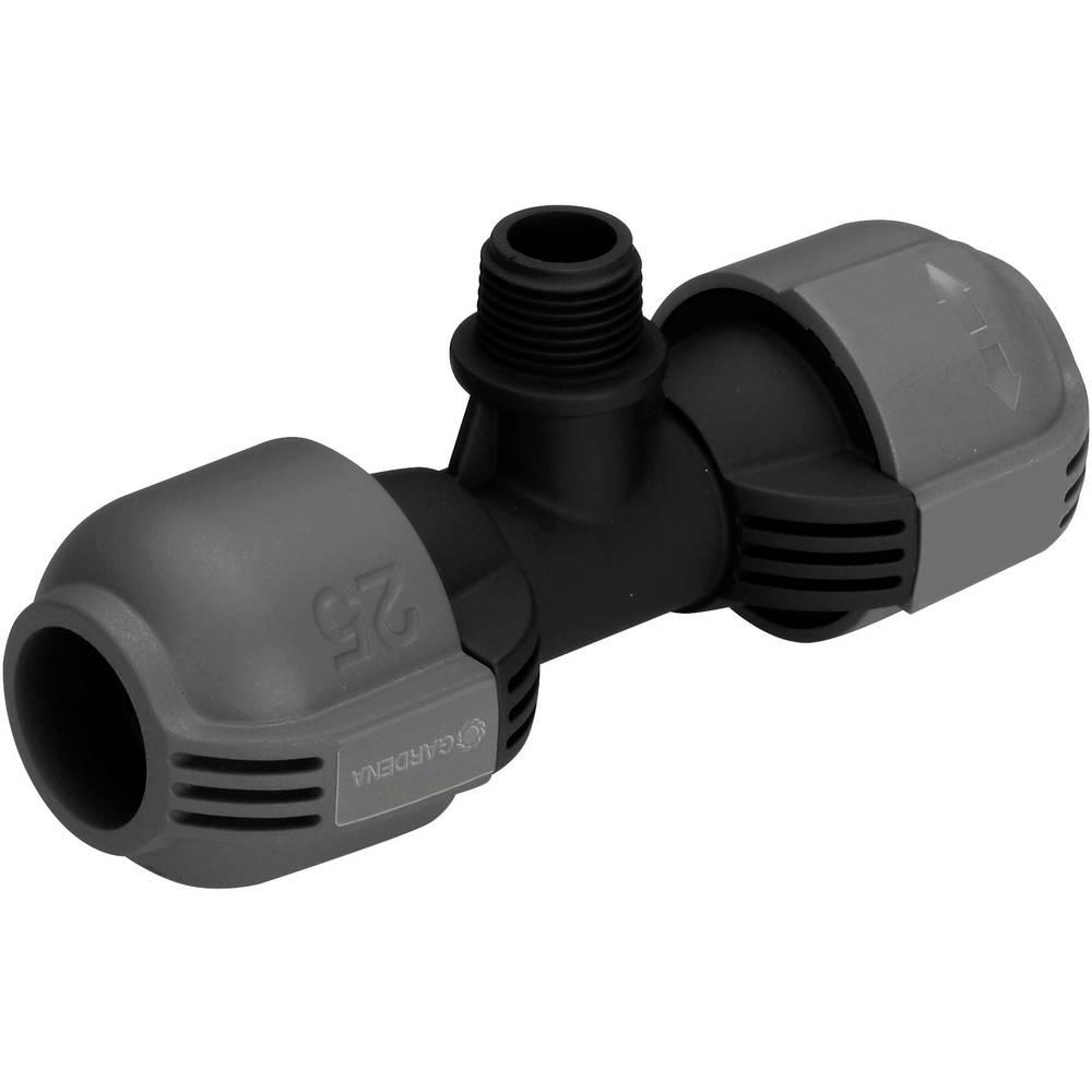 GARDENA Pièce en T GARDENA système Sprinkler 02786-20 25 mm (1/2) (filet. Ext.)