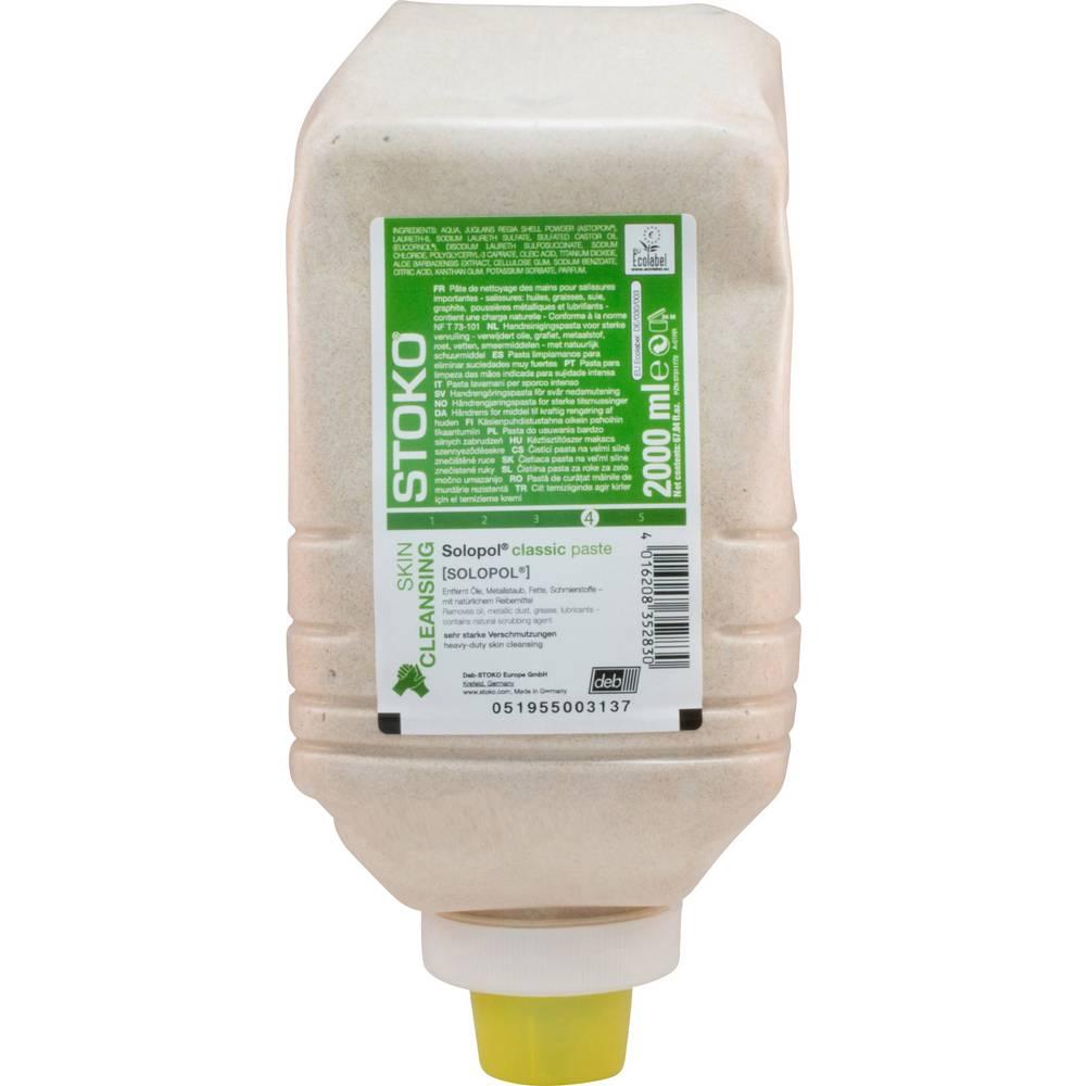 SC Johnson Professional Pâte de nettoyage des mains Stoko 33282 SOLOPOL Eco Line 2L
