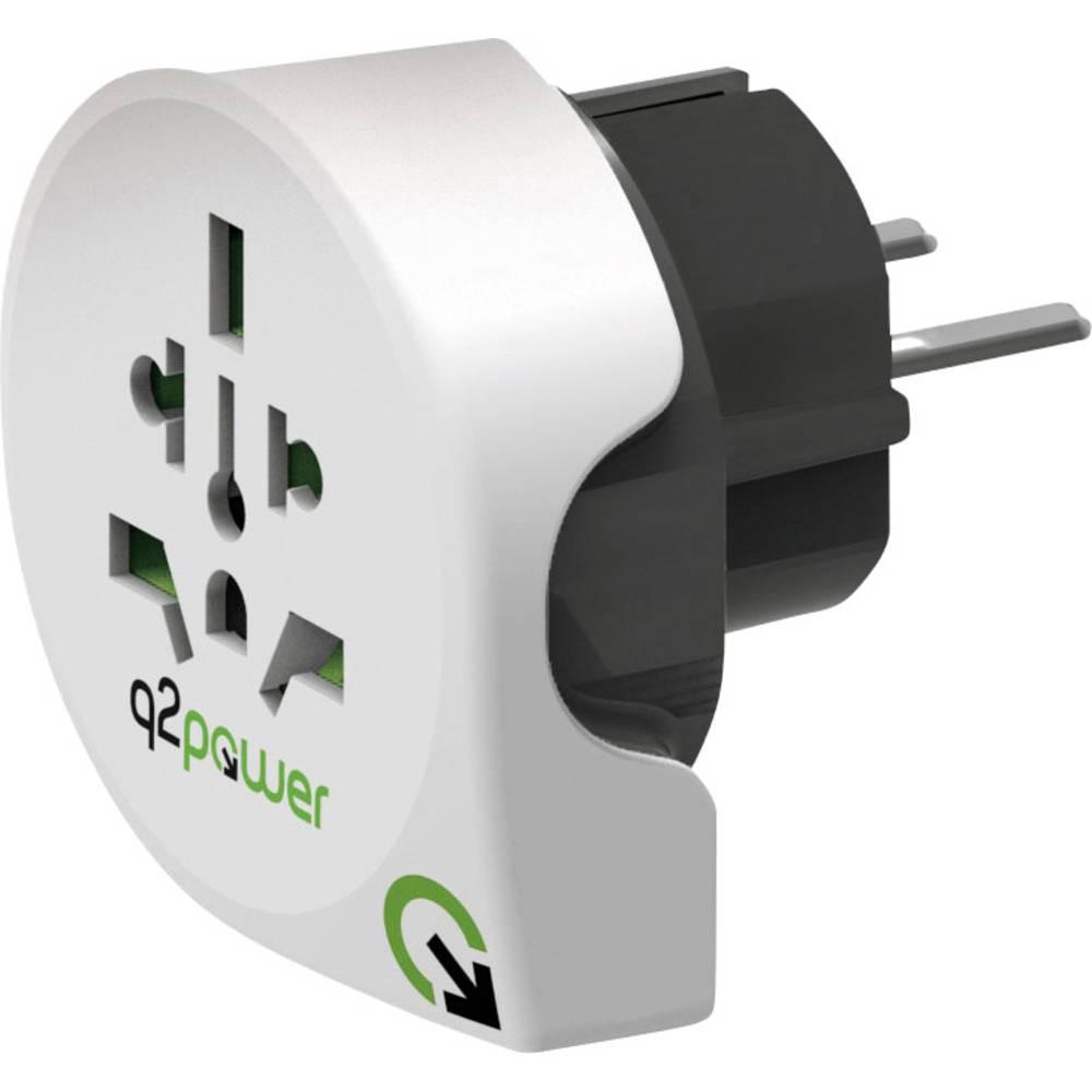 Q2 Power Adaptateur de voyage Q2 Power 1.100100 1.100100 1.100100 1 pc(s)