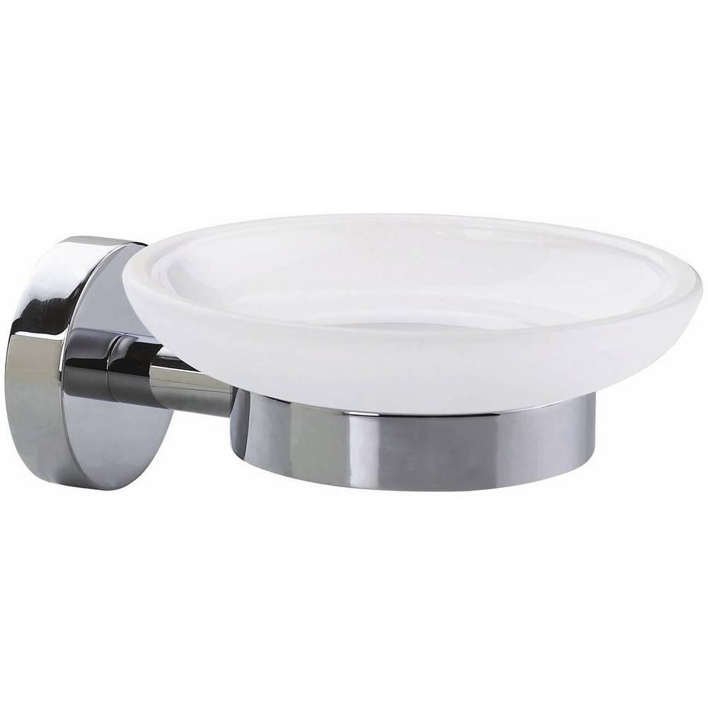 tesa Porte-savon tesa SMOOZ 40324-00000-00 chrome (brillant), blanc (satiné) 1 pc(s)