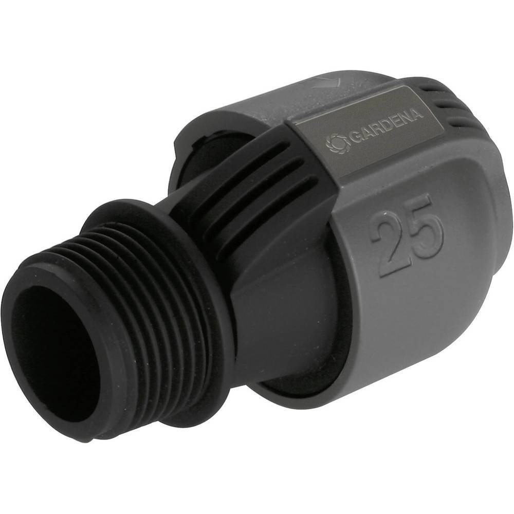 GARDENA Raccord GARDENA système Sprinkler 02763-20 33,25 mm (1) (filet ext.)