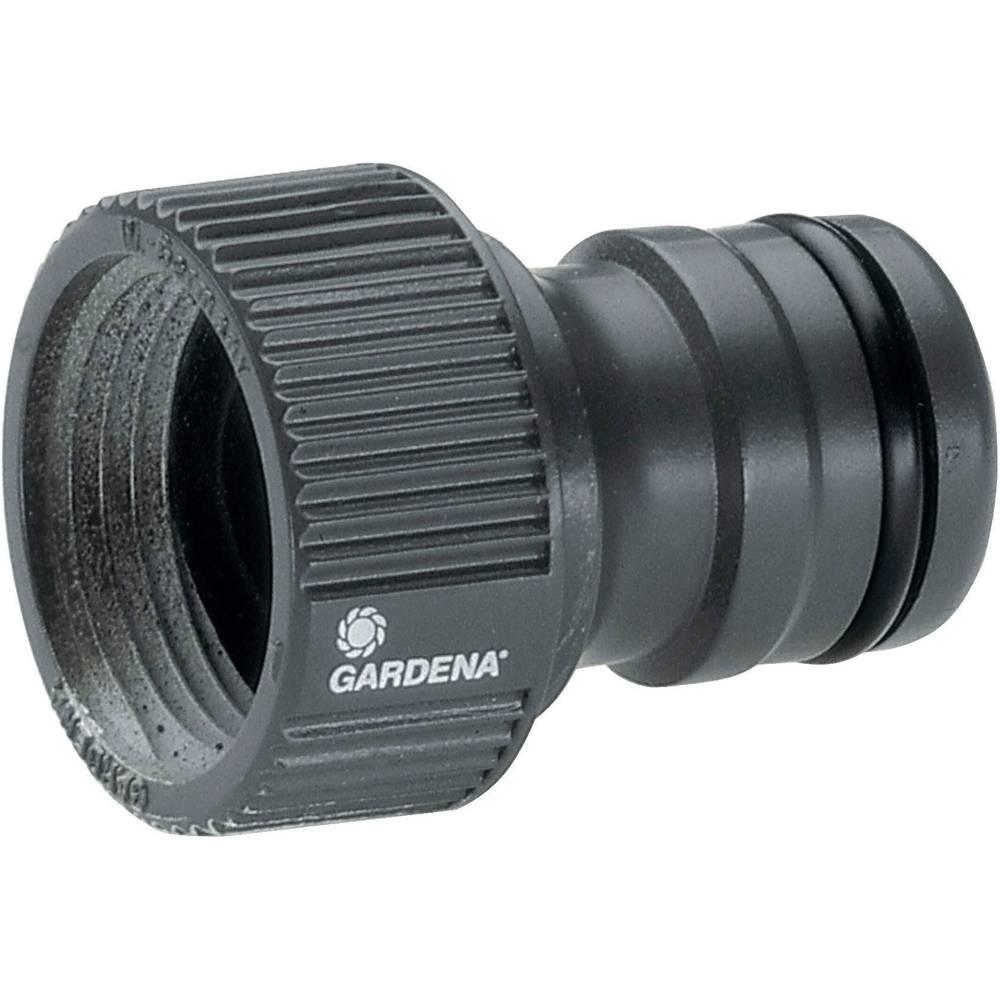 GARDENA Raccord de robinet GARDENA 2801-20 raccord enfichable Profi-System, 26,44 mm (3/4) (filet ext.)