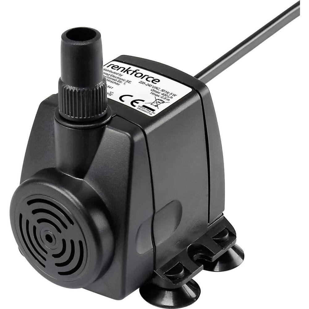Renkforce Pompe pour fontaine dintérieur 400 l/h Renkforce 1168660 0.8 m