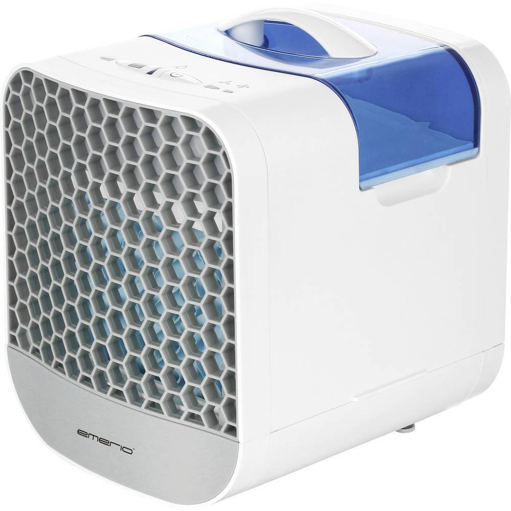 EMERIO Refroidisseur dair EMERIO Air cooler AC-116964 (L x l x H) 16 x 20 x 20 cm blanc 1 pc(s)
