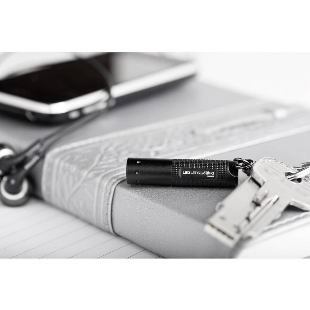 Ledlenser Mini lampe de poche Ledlenser K1 LED avec porte-clés à pile(s) 17 lm 0.75 h 7.5 g