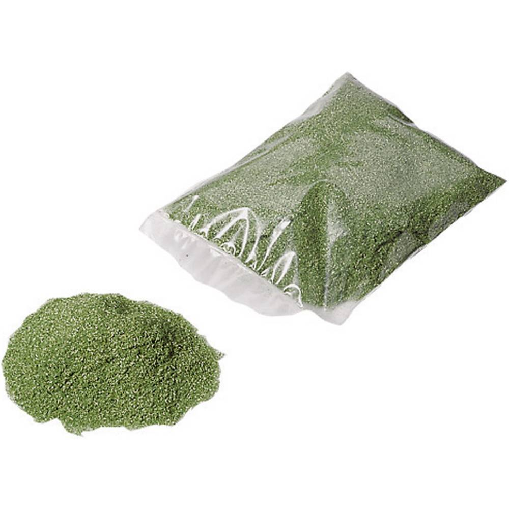 NOCH Matériau à saupoudrer lisière de champs NOCH 08420 vert moyen 40 g