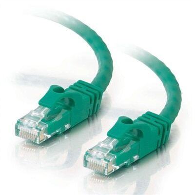 CablesToGo C2G - Câble Ethernet Cat6 (RJ-45) UTP - Vert - 1.5m