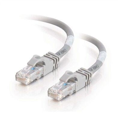 CablesToGo C2G - Câble Ethernet Cat6 (RJ-45) UTP - Gris - 0.5m