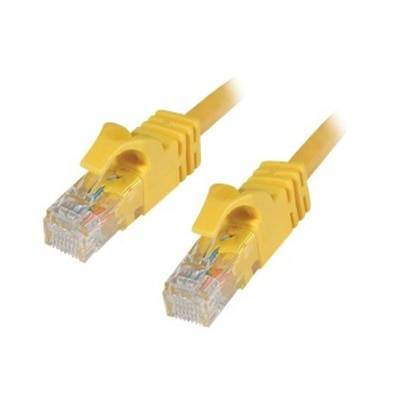 CablesToGo C2G - Câble Ethernet Cat6 (RJ-45) UTP - Jaune - 2m