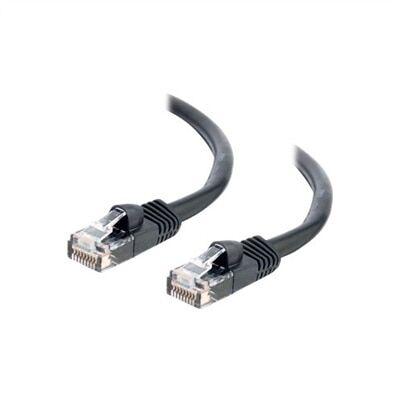 CablesToGo C2G - Câble Ethernet Cat5e (RJ-45) UTP - Noir - 1m