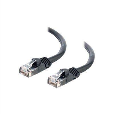 CablesToGo C2G - Câble Ethernet Cat5e (RJ-45) UTP - Noir - 2m