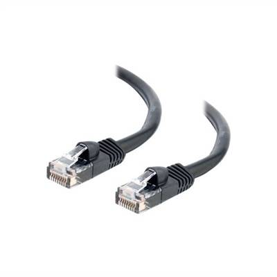 CablesToGo C2G - Câble Ethernet Cat5e (RJ-45) UTP - Noir - 1.5m